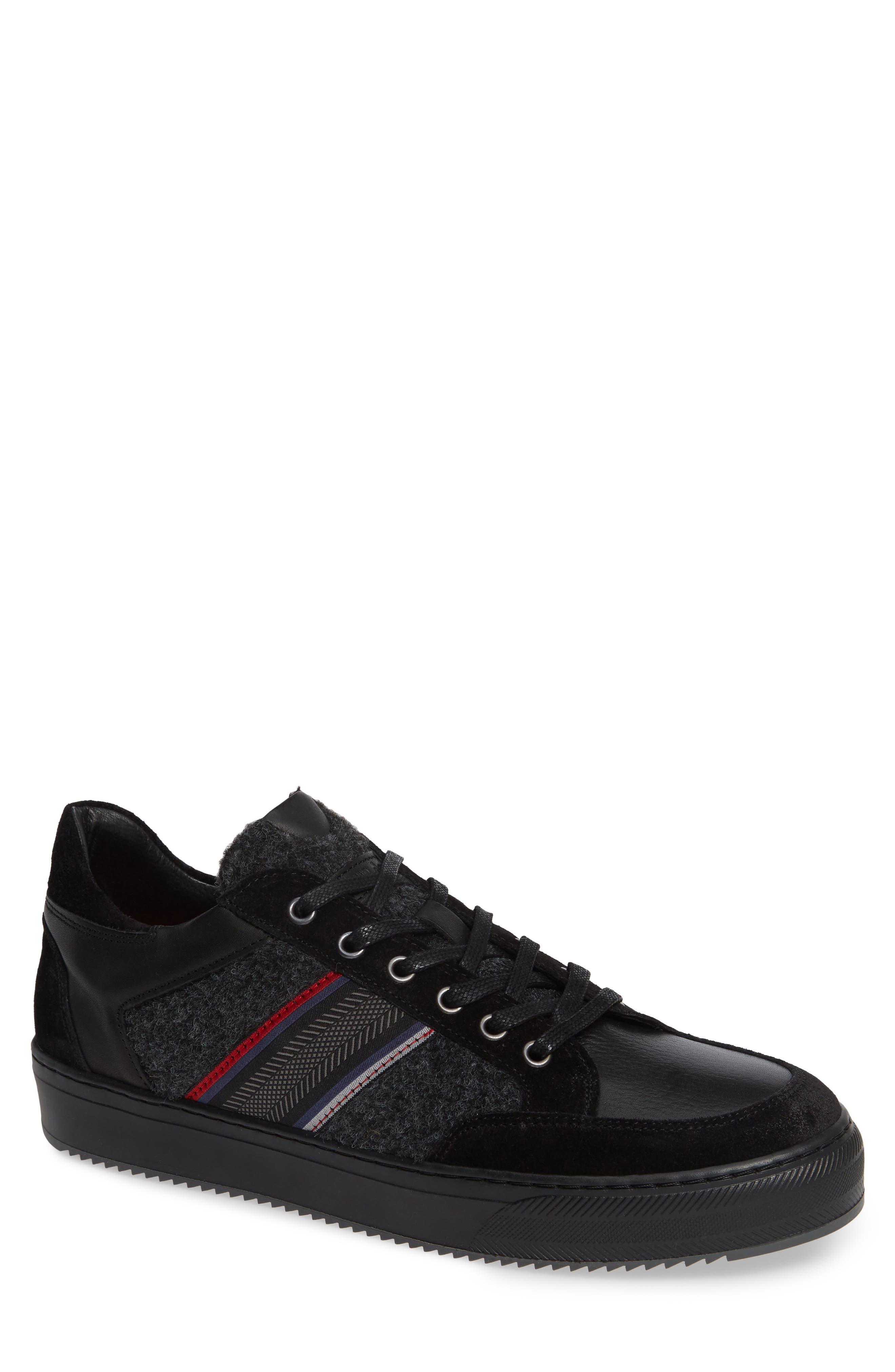 Poggio Sneaker,                         Main,                         color, BLACK
