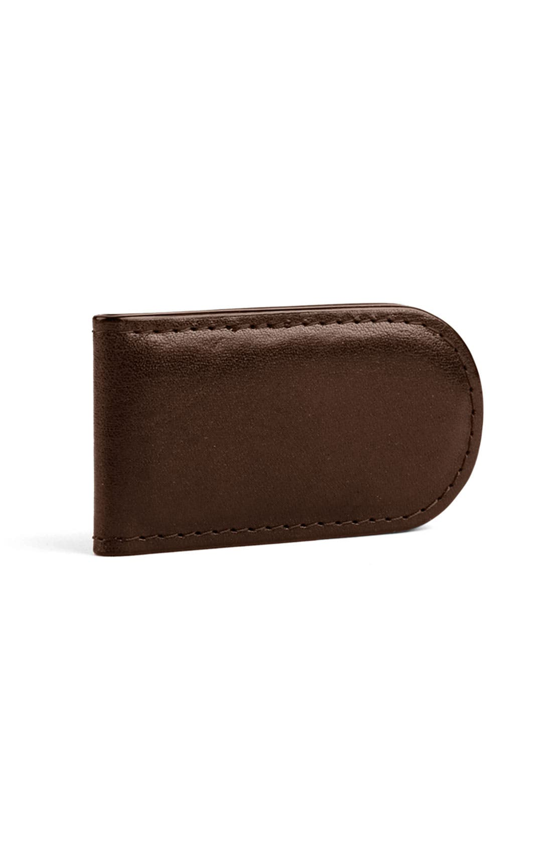 Leather Money Clip,                             Alternate thumbnail 7, color,