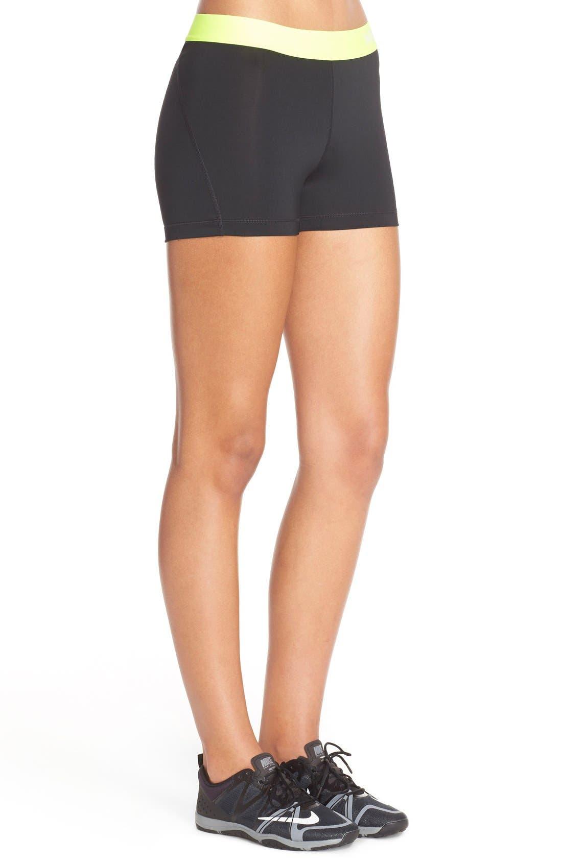 NIKE,                             'Pro' Dri-FIT Shorts,                             Alternate thumbnail 4, color,                             012