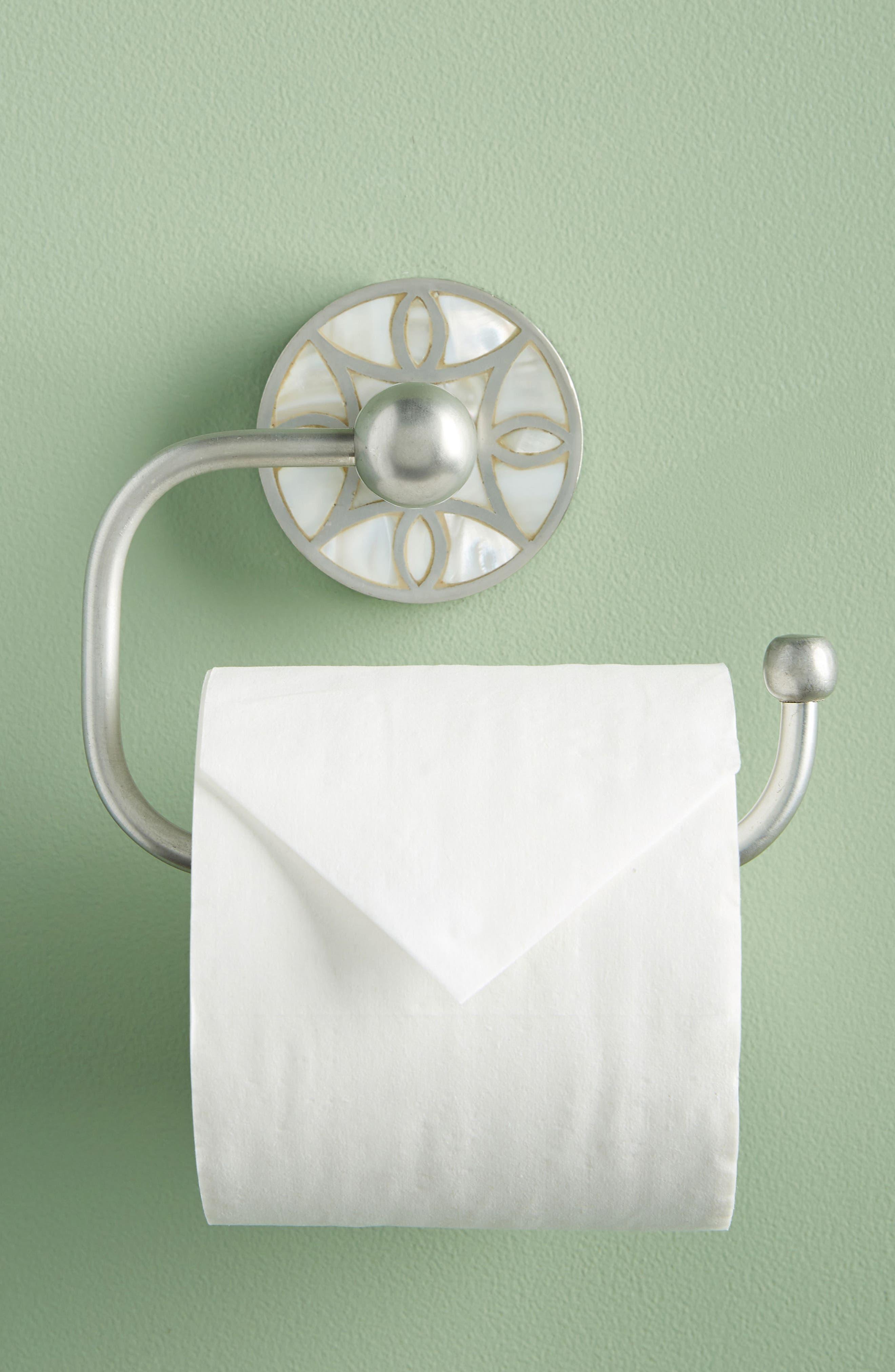 Launis Toilet Paper Holder,                             Alternate thumbnail 5, color,                             GREY