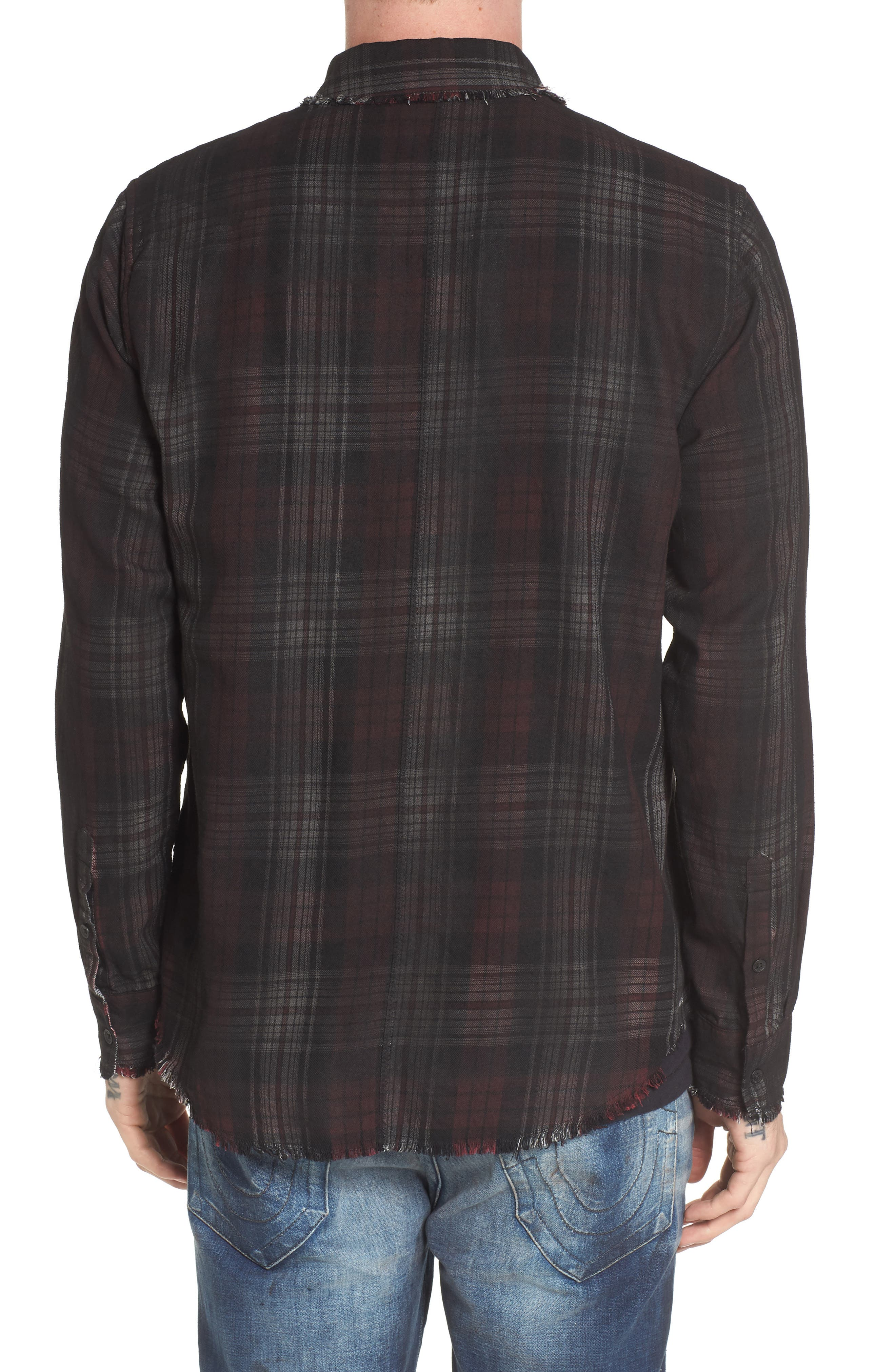 Coated Punk Woven Shirt,                             Alternate thumbnail 2, color,                             600