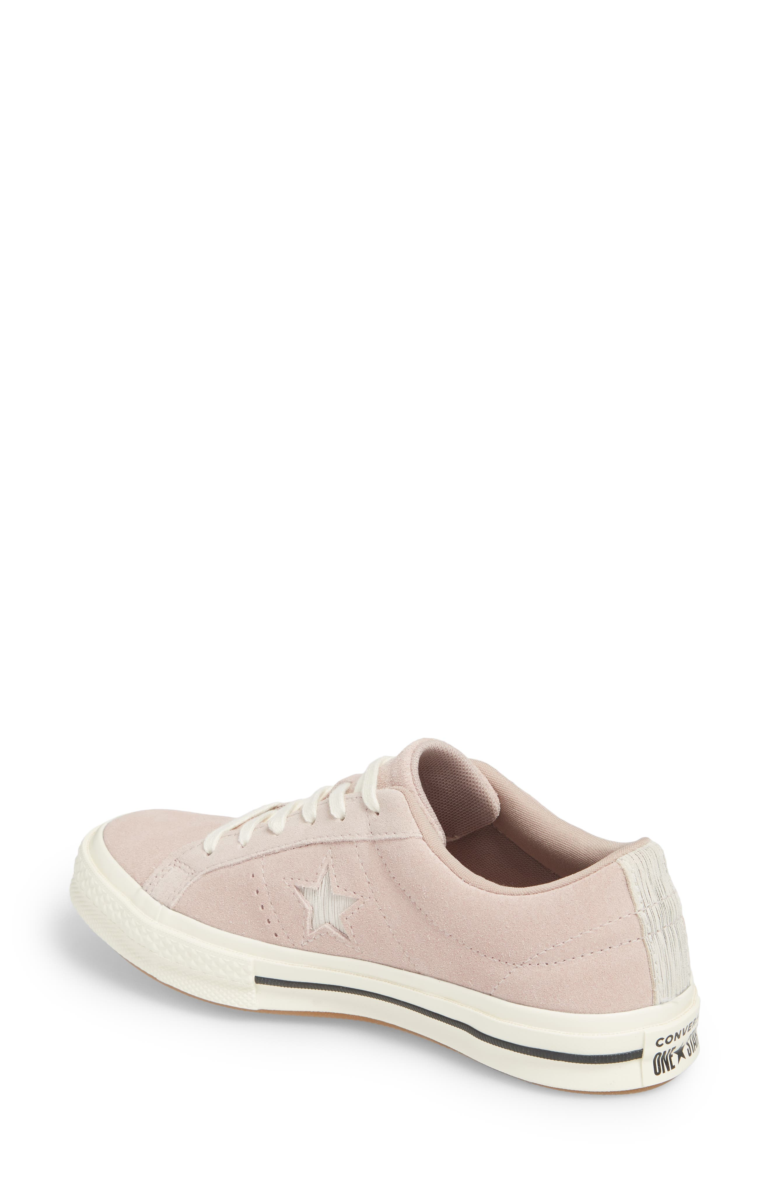 One Star Suede Low Top Sneaker,                             Alternate thumbnail 6, color,