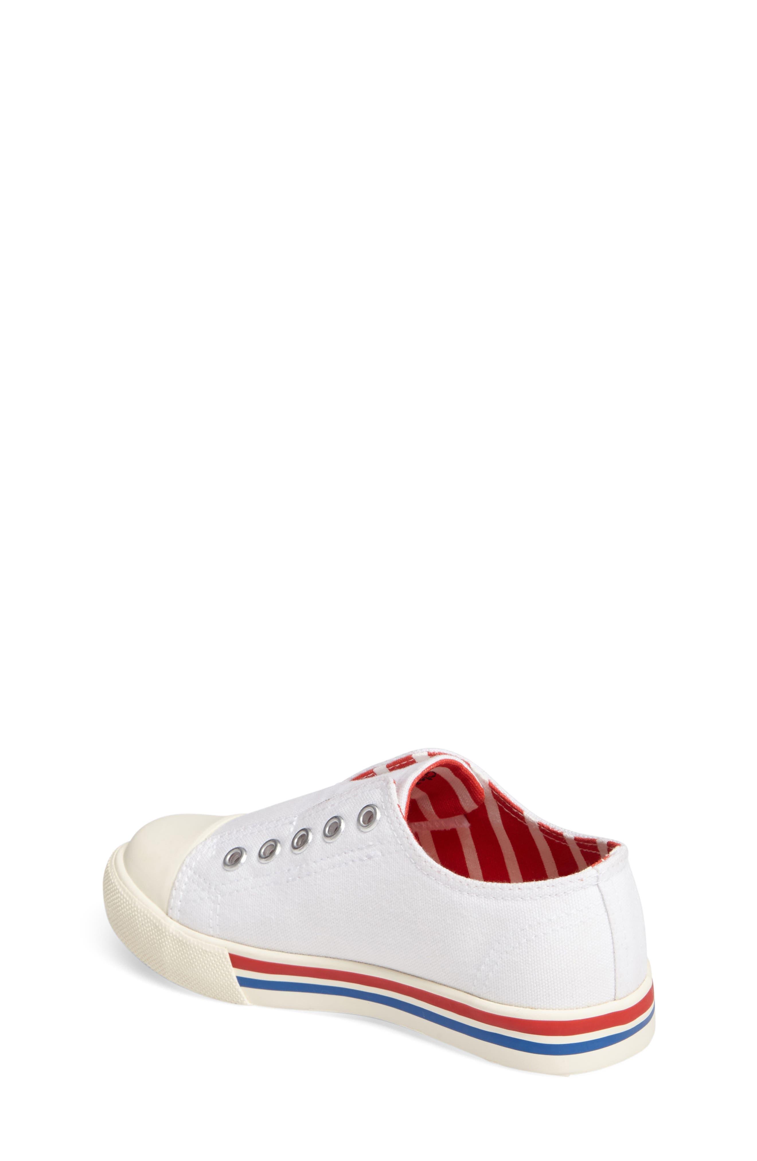 Laceless Sneaker,                             Alternate thumbnail 2, color,                             100