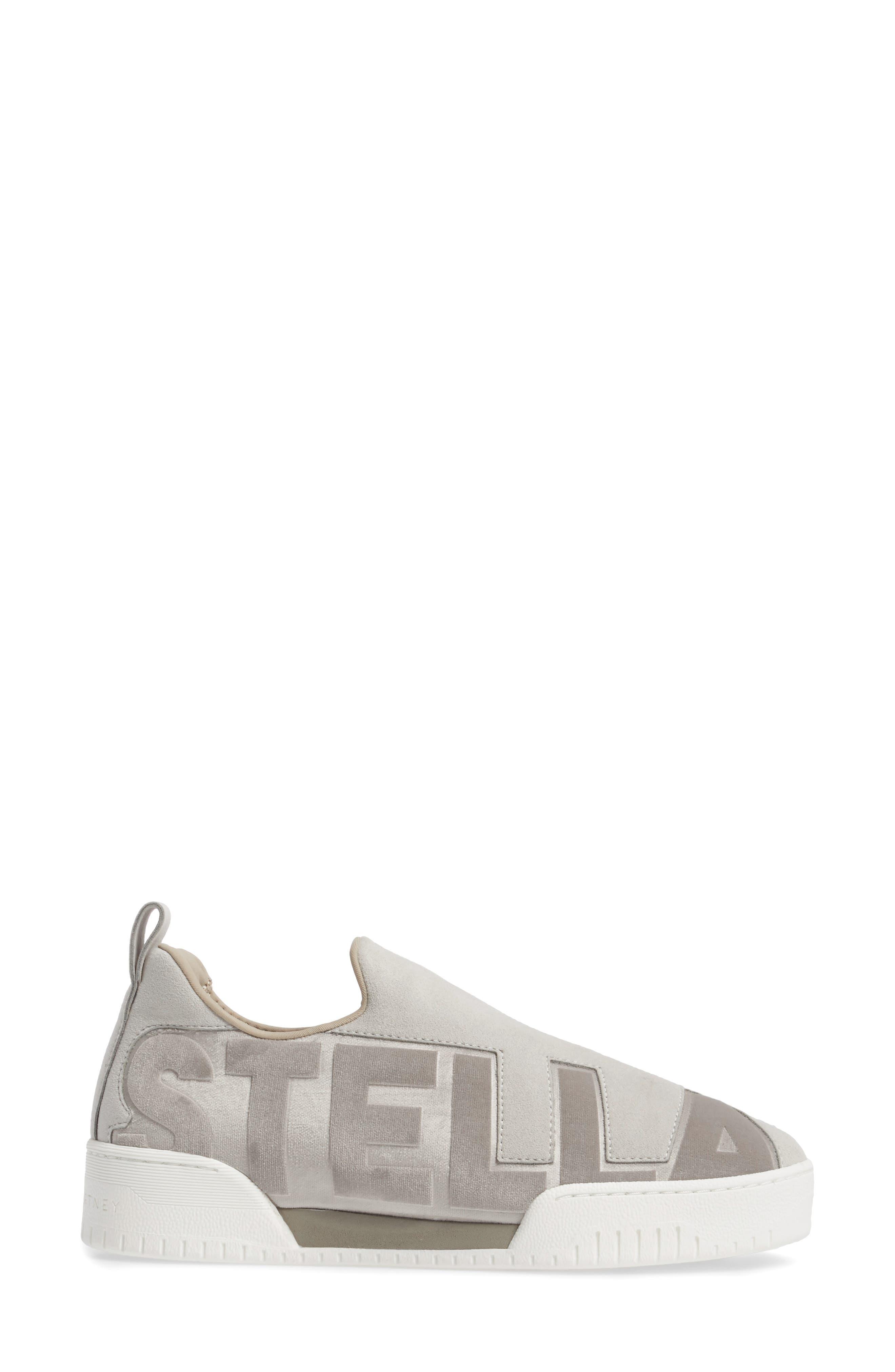 Logo Slip-On Sneaker,                             Alternate thumbnail 3, color,                             100