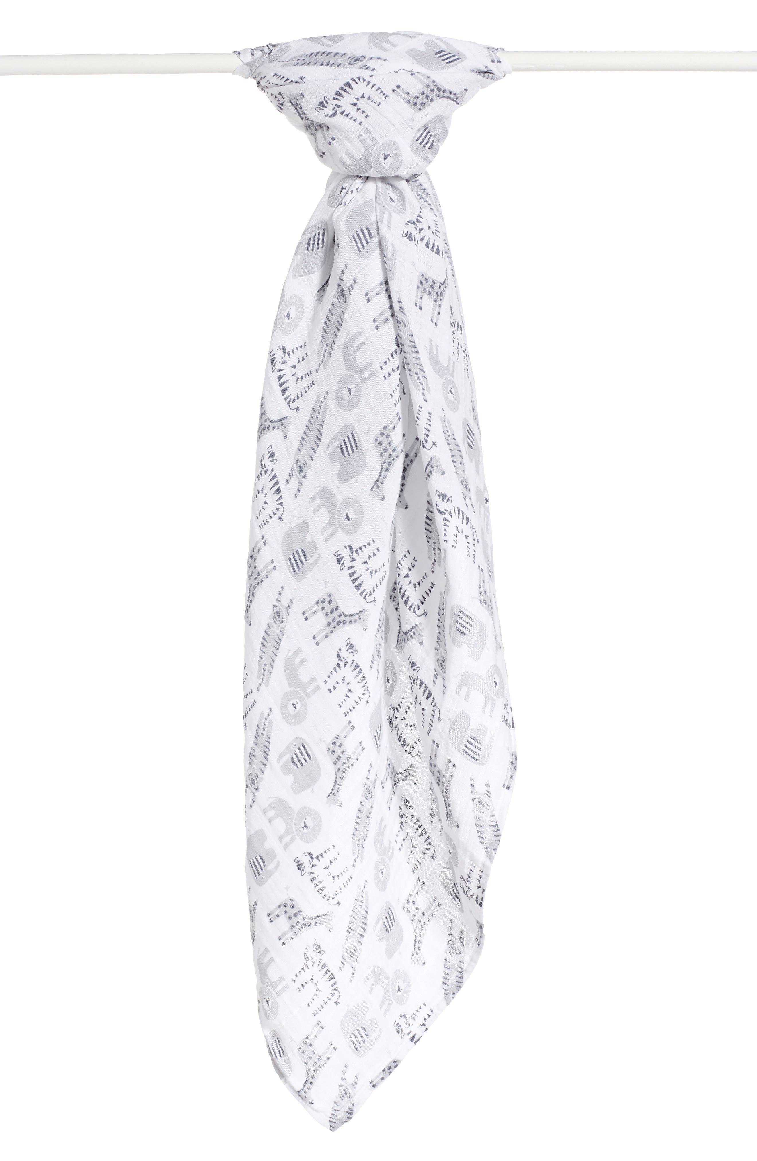 Cotton Swaddle Blanket,                             Main thumbnail 13, color,
