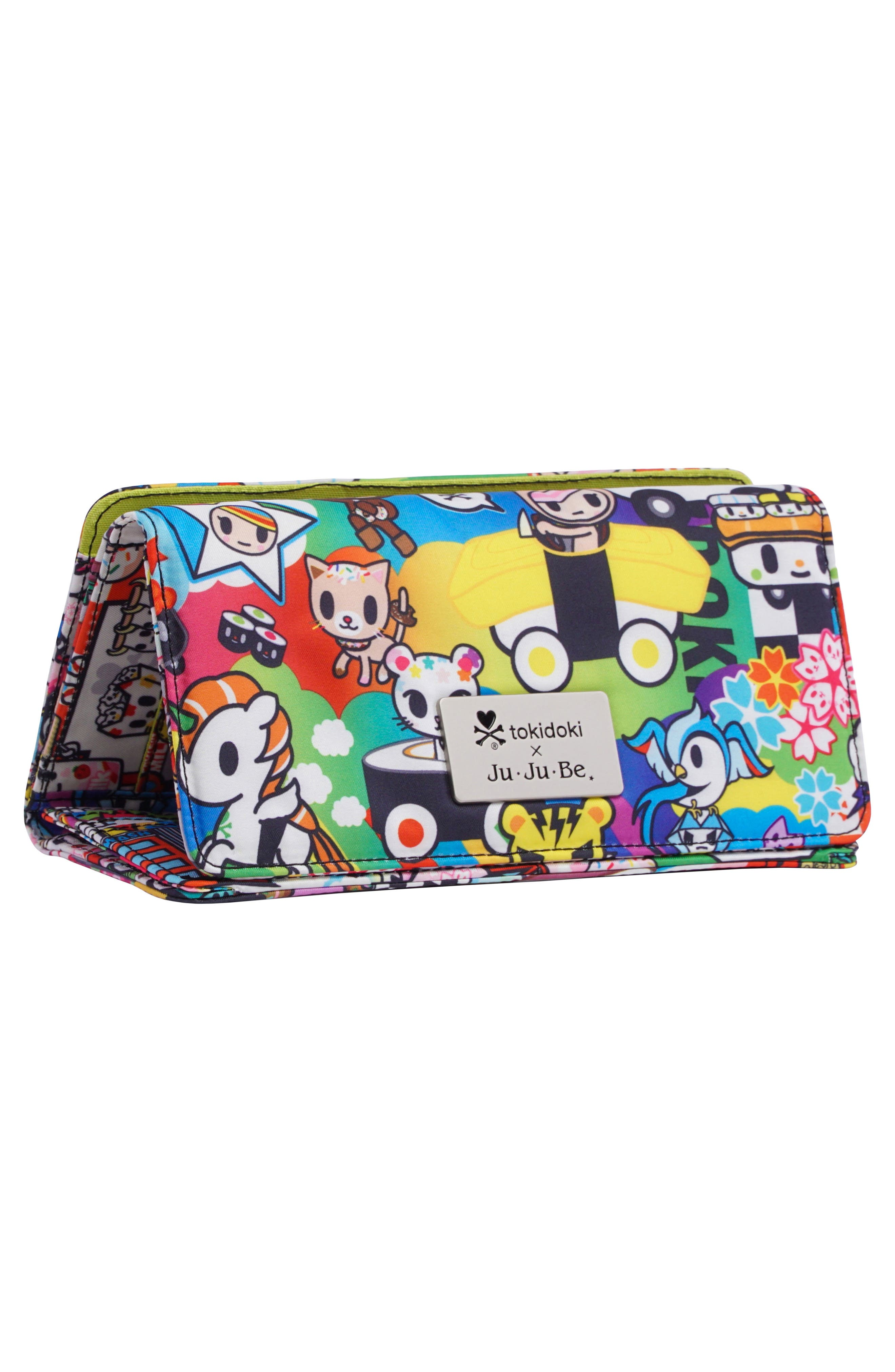 x tokidoki Be Rich Trifold Clutch Wallet,                             Alternate thumbnail 2, color,                             SUSHI CARS