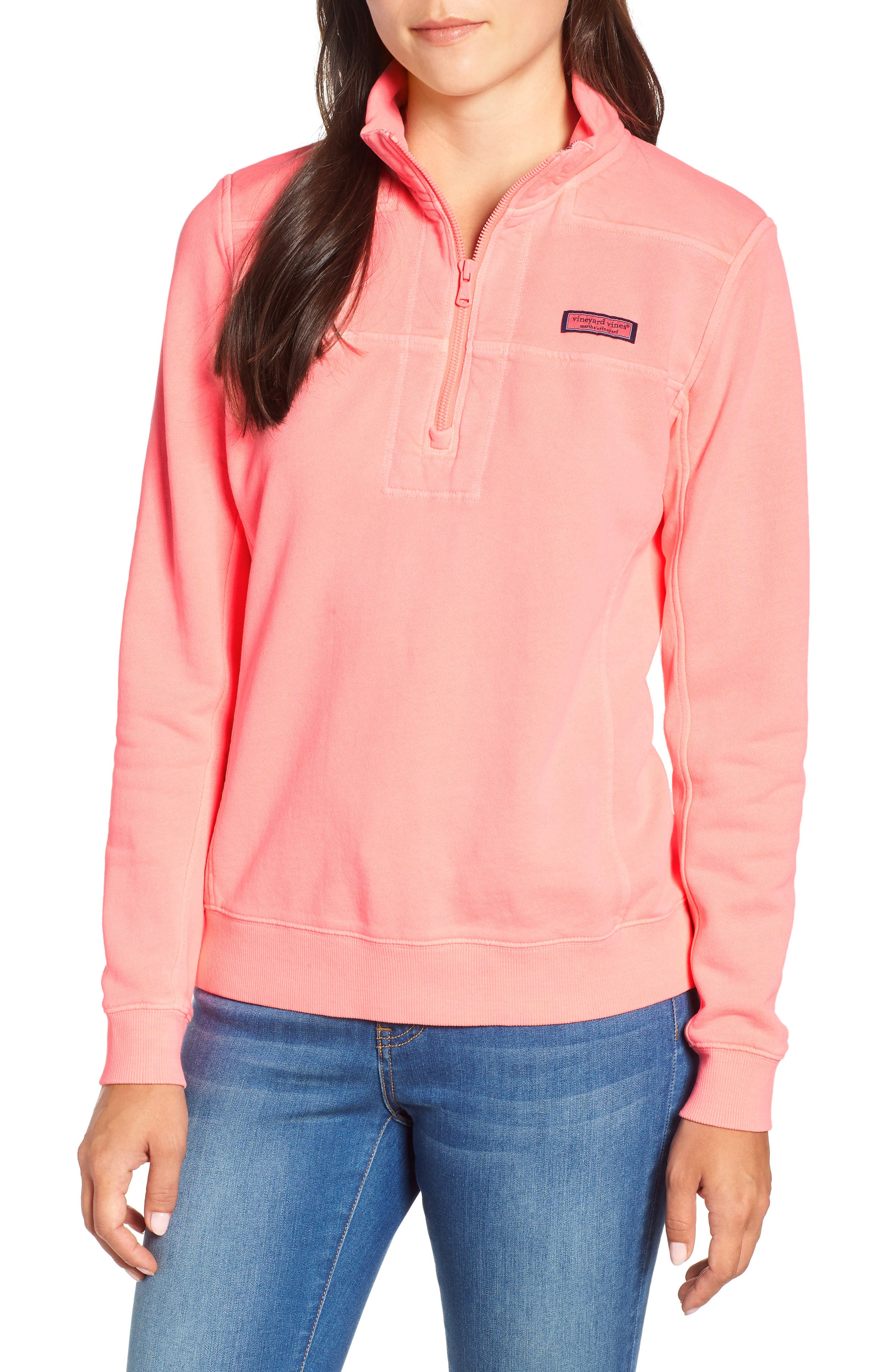 VINEYARD VINES Garment Dyed Classic Shep Pullover, Main, color, 655