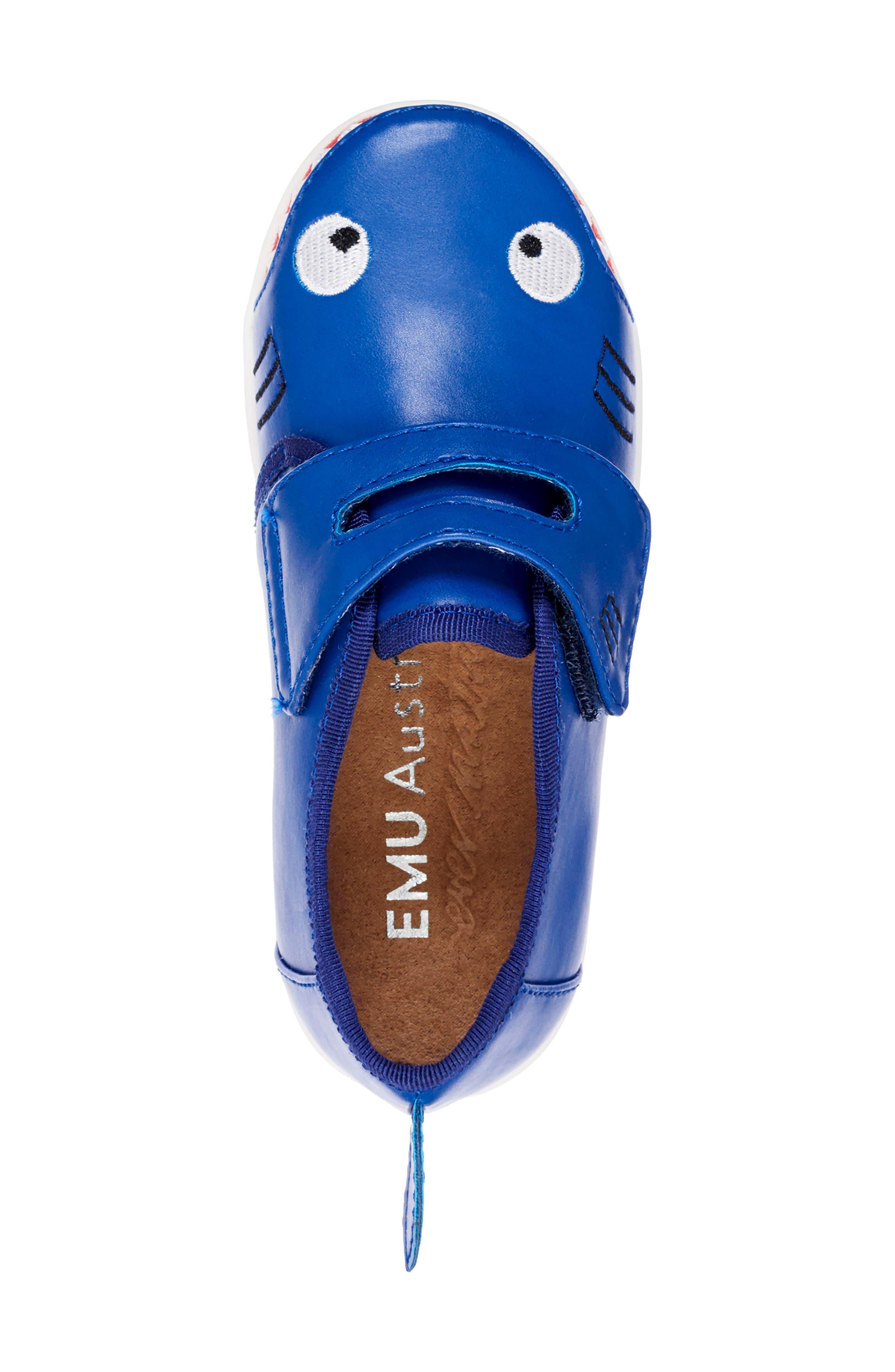 Sneaker,                             Alternate thumbnail 4, color,                             INDIGO SHARK