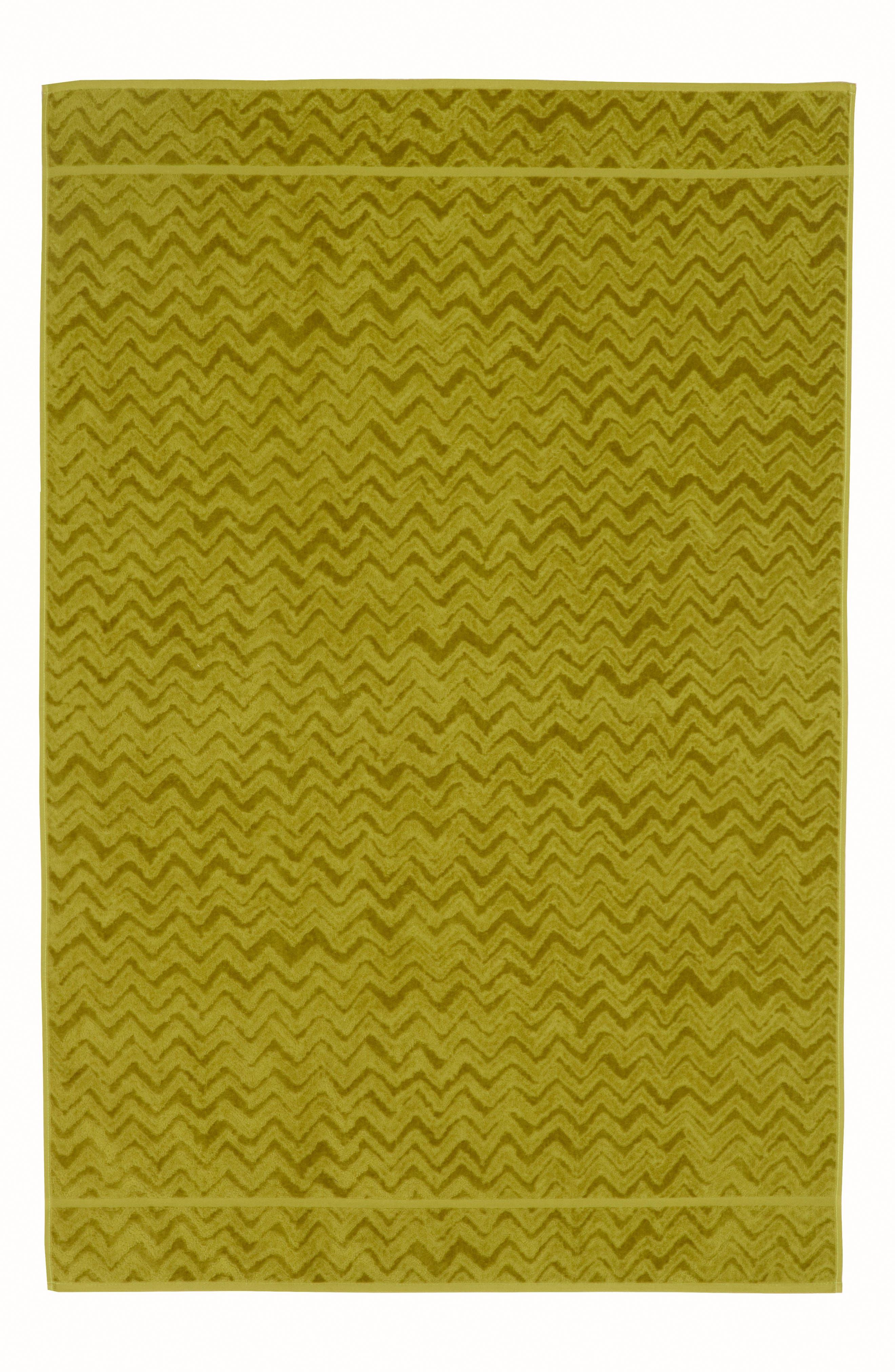 Missoni Rex Hand Towel,                             Main thumbnail 1, color,                             GREEN APPLE BLUE