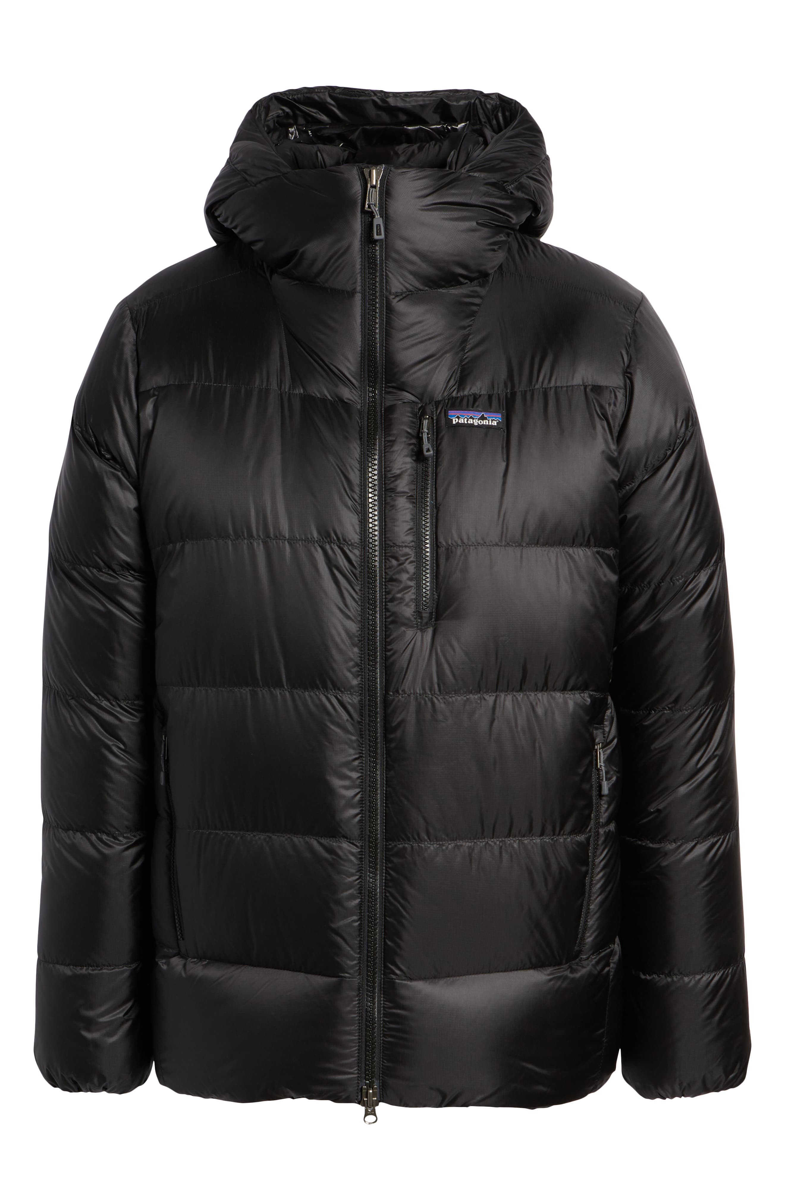 Fitz Roy Water Repellent 800-Fill-Power Down Parka,                             Alternate thumbnail 6, color,                             001