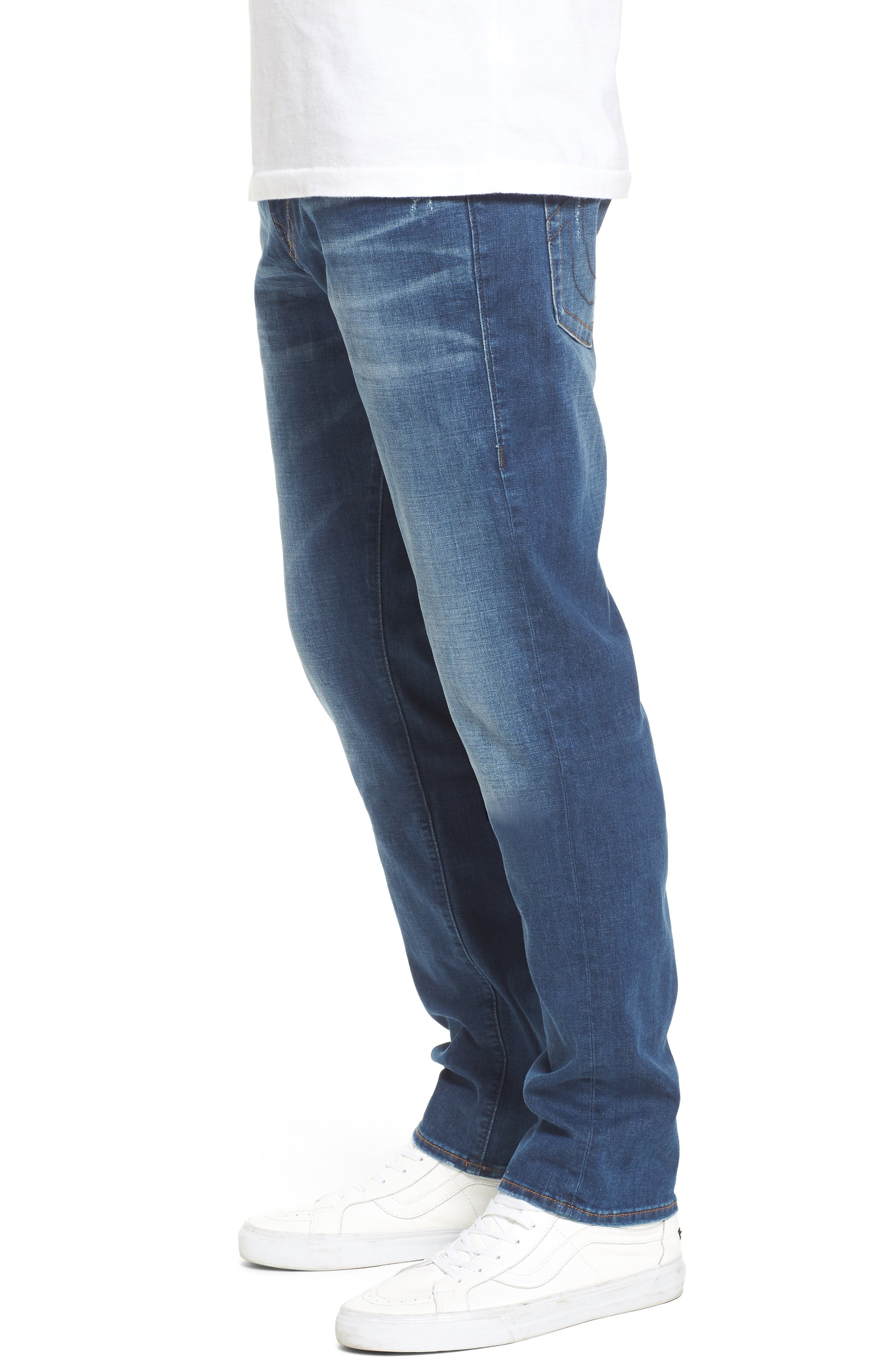 Geno Straight Leg Jeans,                             Alternate thumbnail 3, color,