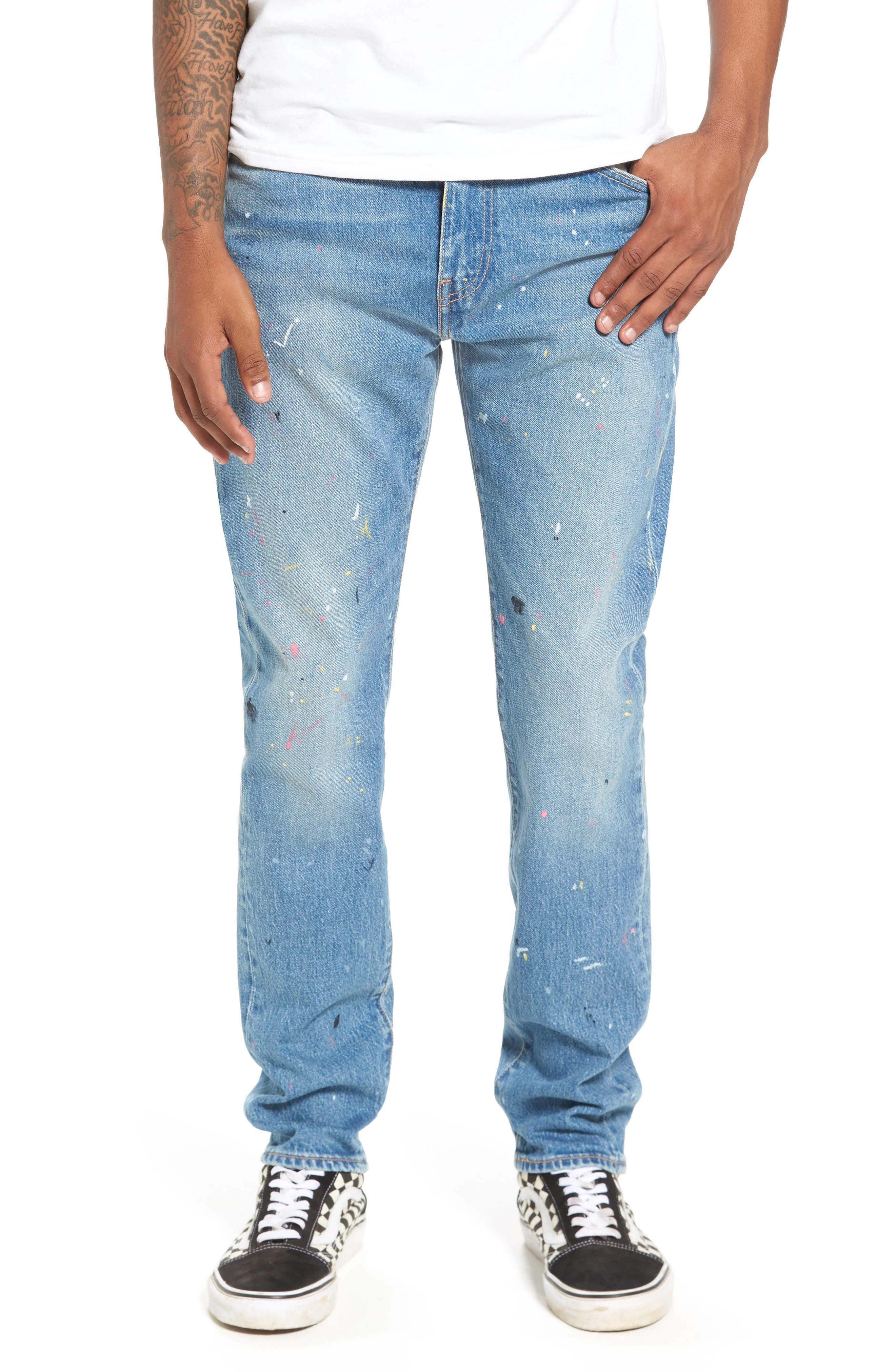 LEVI'S<SUP>®</SUP>,                             510<sup>™</sup> Skinny Fit Jeans,                             Main thumbnail 1, color,                             421