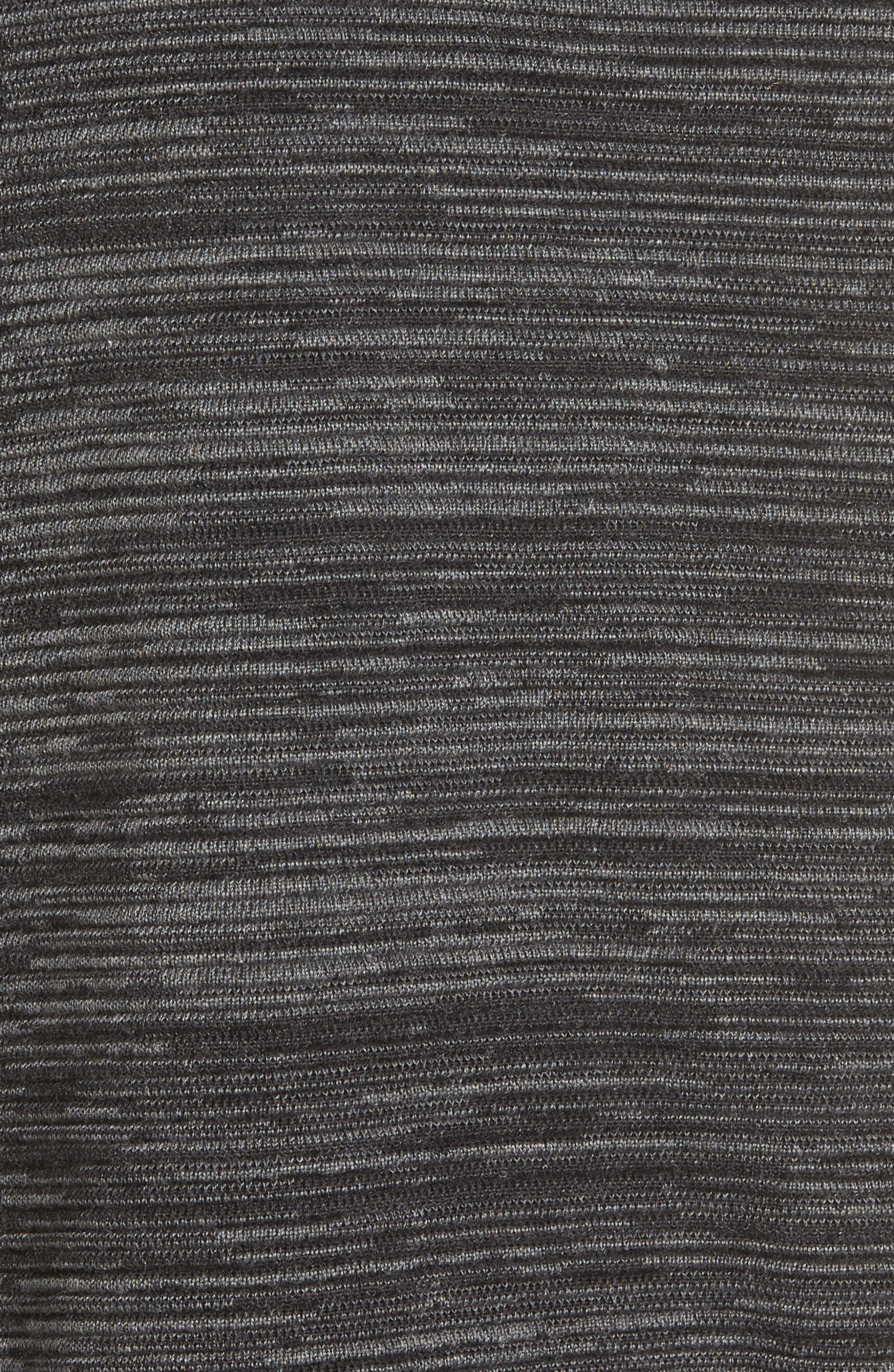 Tencel<sup>®</sup> & Organic Cotton Sweater,                             Alternate thumbnail 5, color,                             001