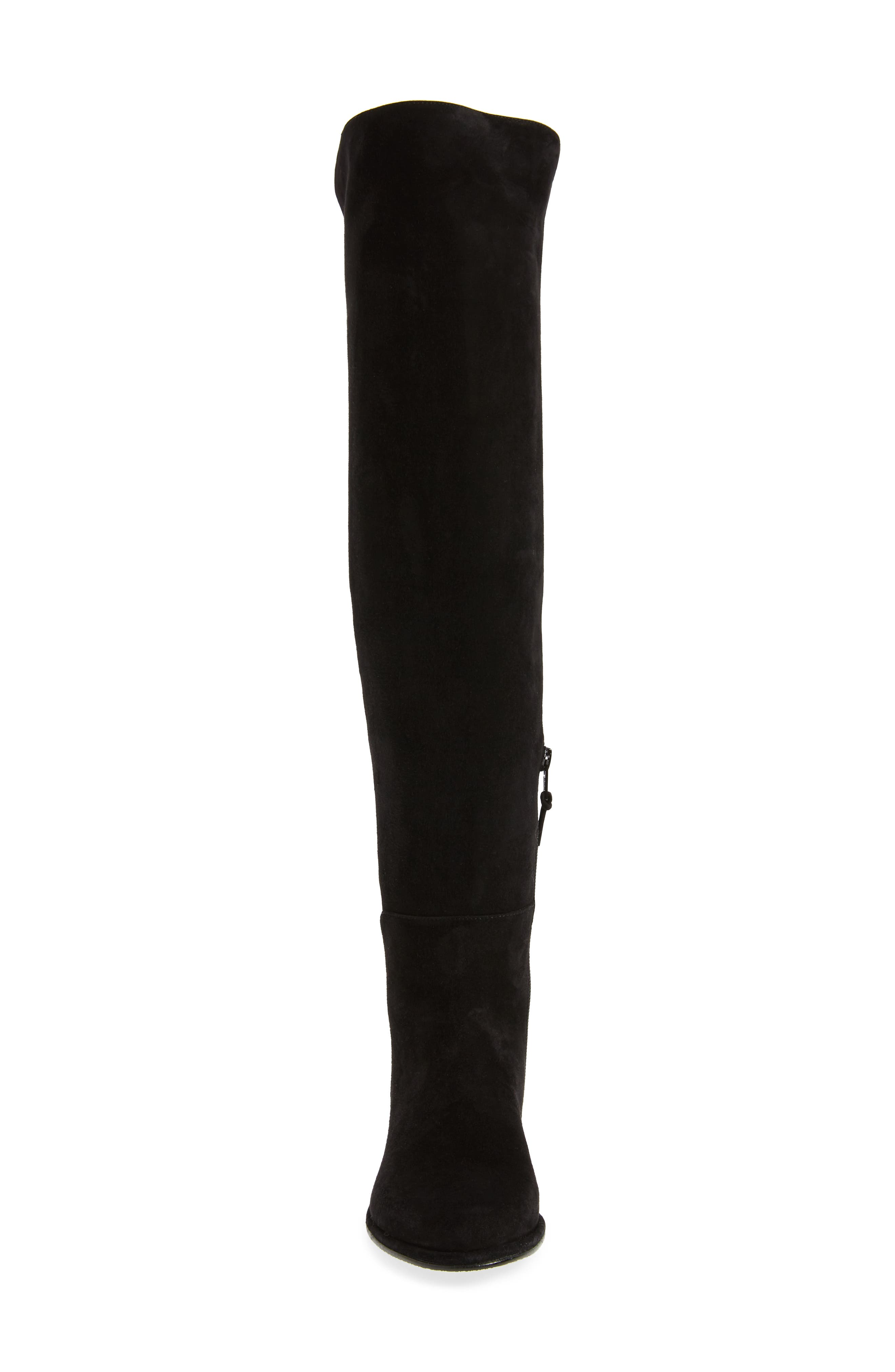 Allgood Over the Knee Boot,                             Alternate thumbnail 4, color,                             001