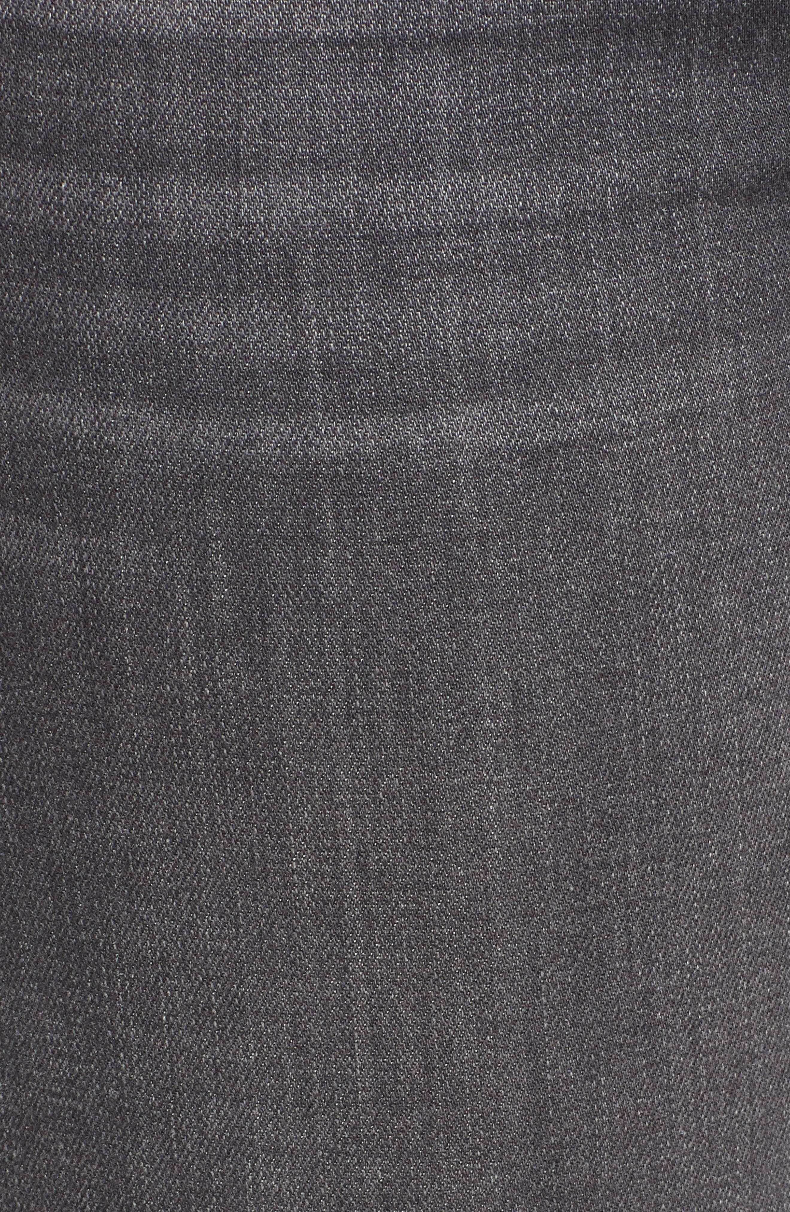 Transcend - Verdugo Maternity Skinny Jeans,                             Alternate thumbnail 6, color,                             GREY PEAKS