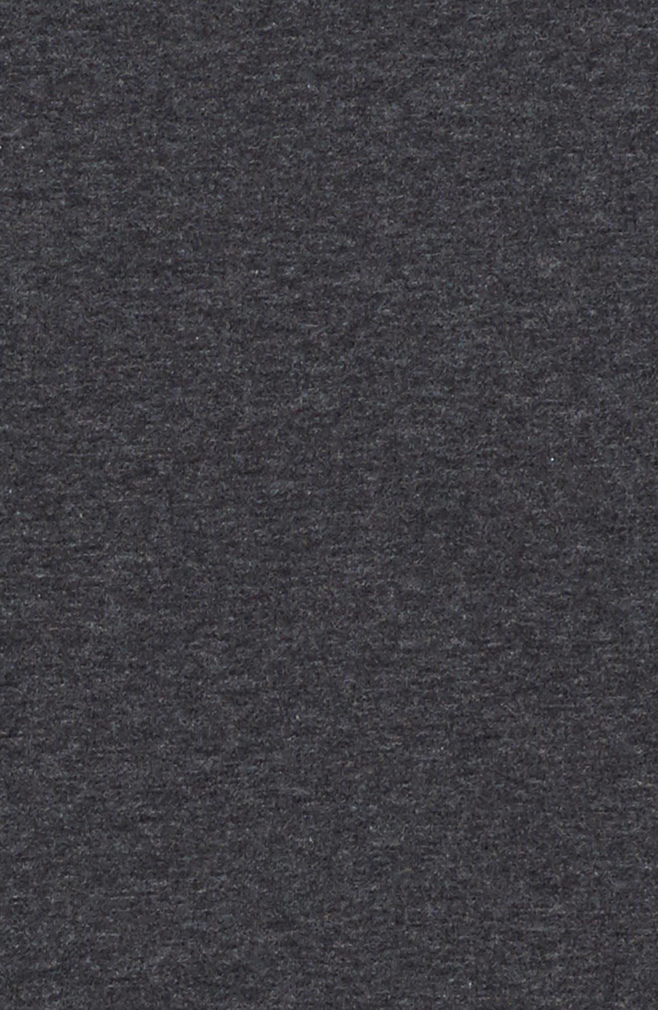 Zipper Sweatshirt Dress,                             Alternate thumbnail 5, color,