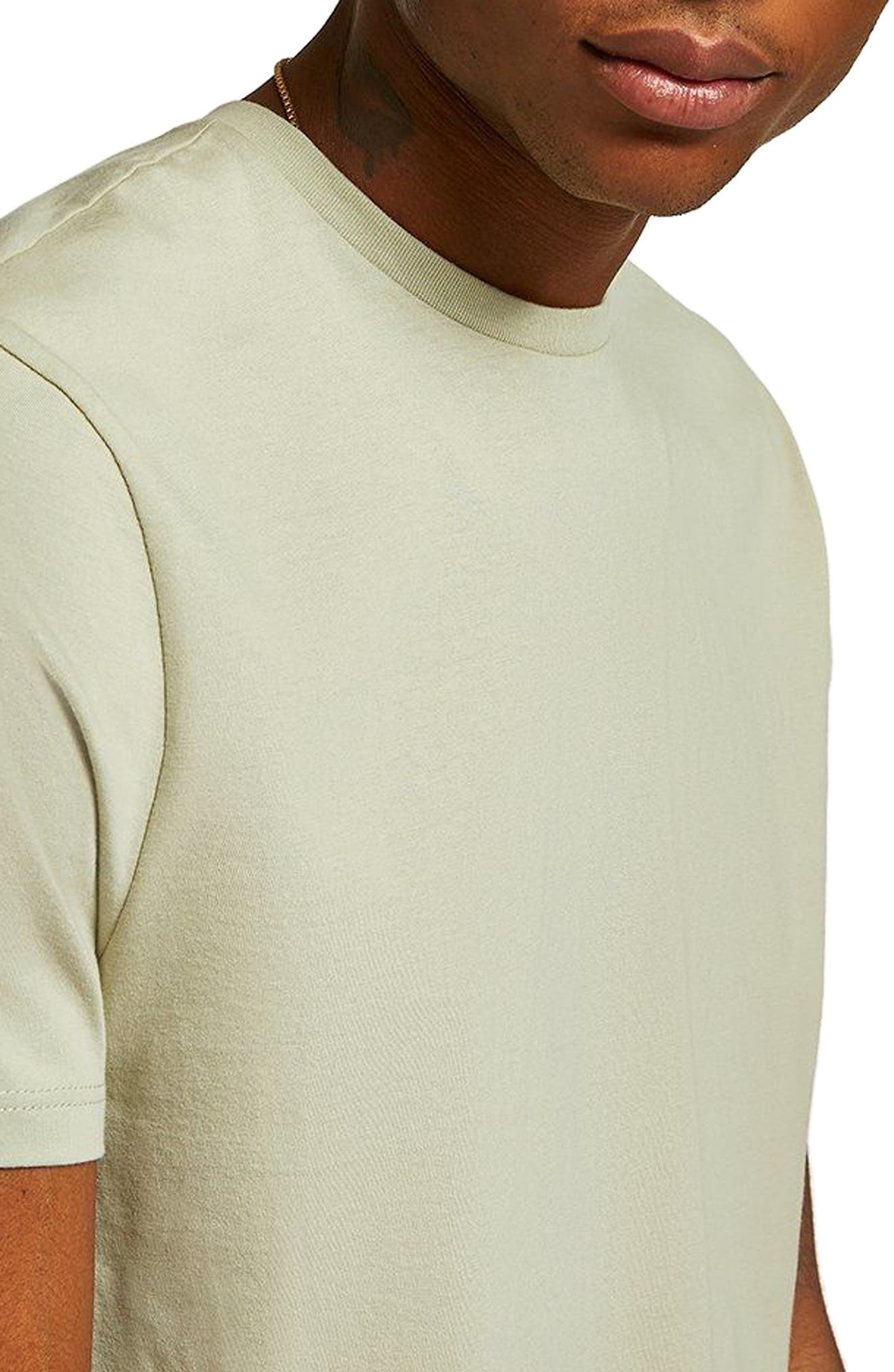 Slim Fit Crewneck T-Shirt,                             Alternate thumbnail 199, color,