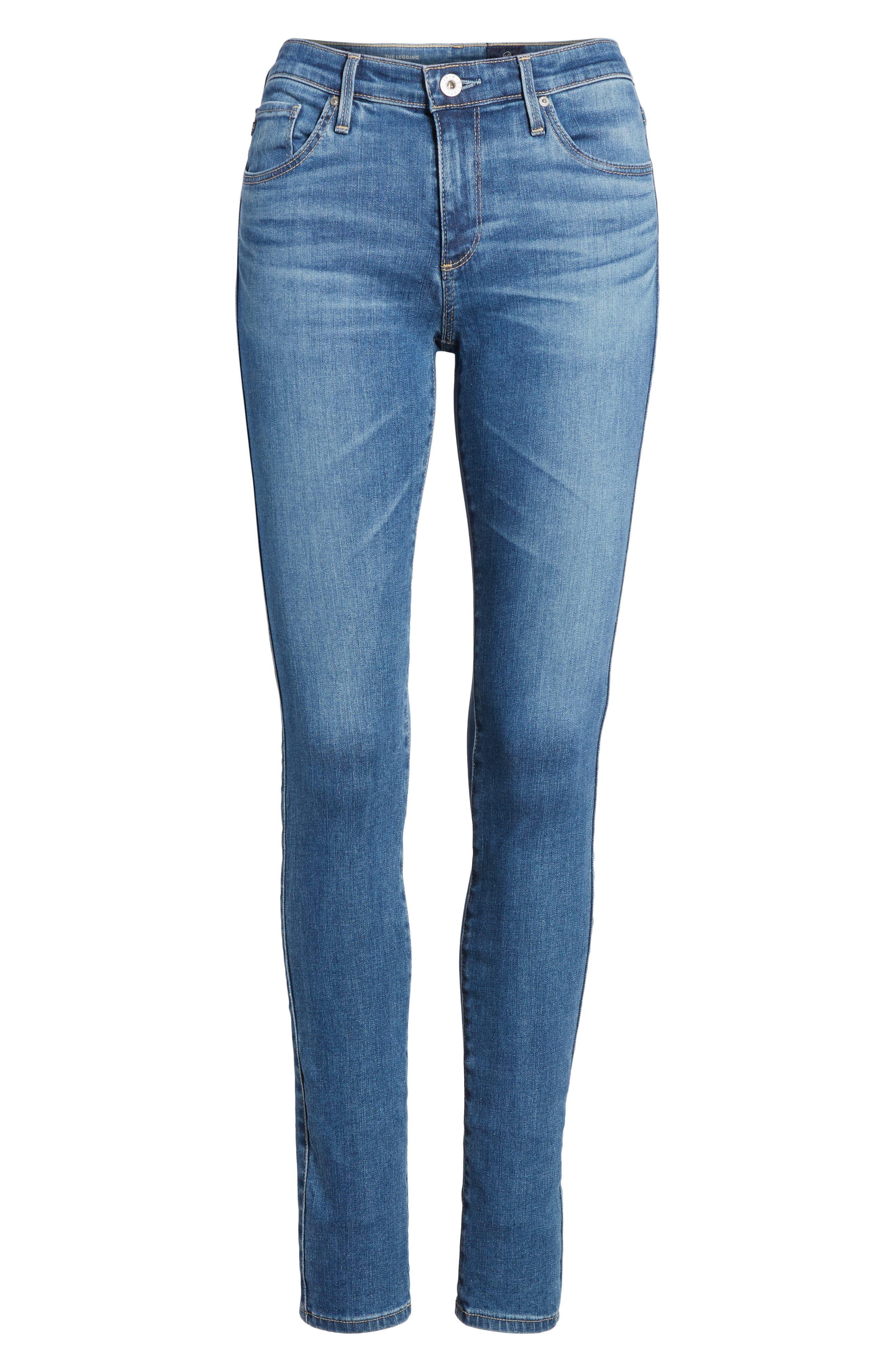 'The Legging' Super Skinny Jeans,                             Alternate thumbnail 56, color,