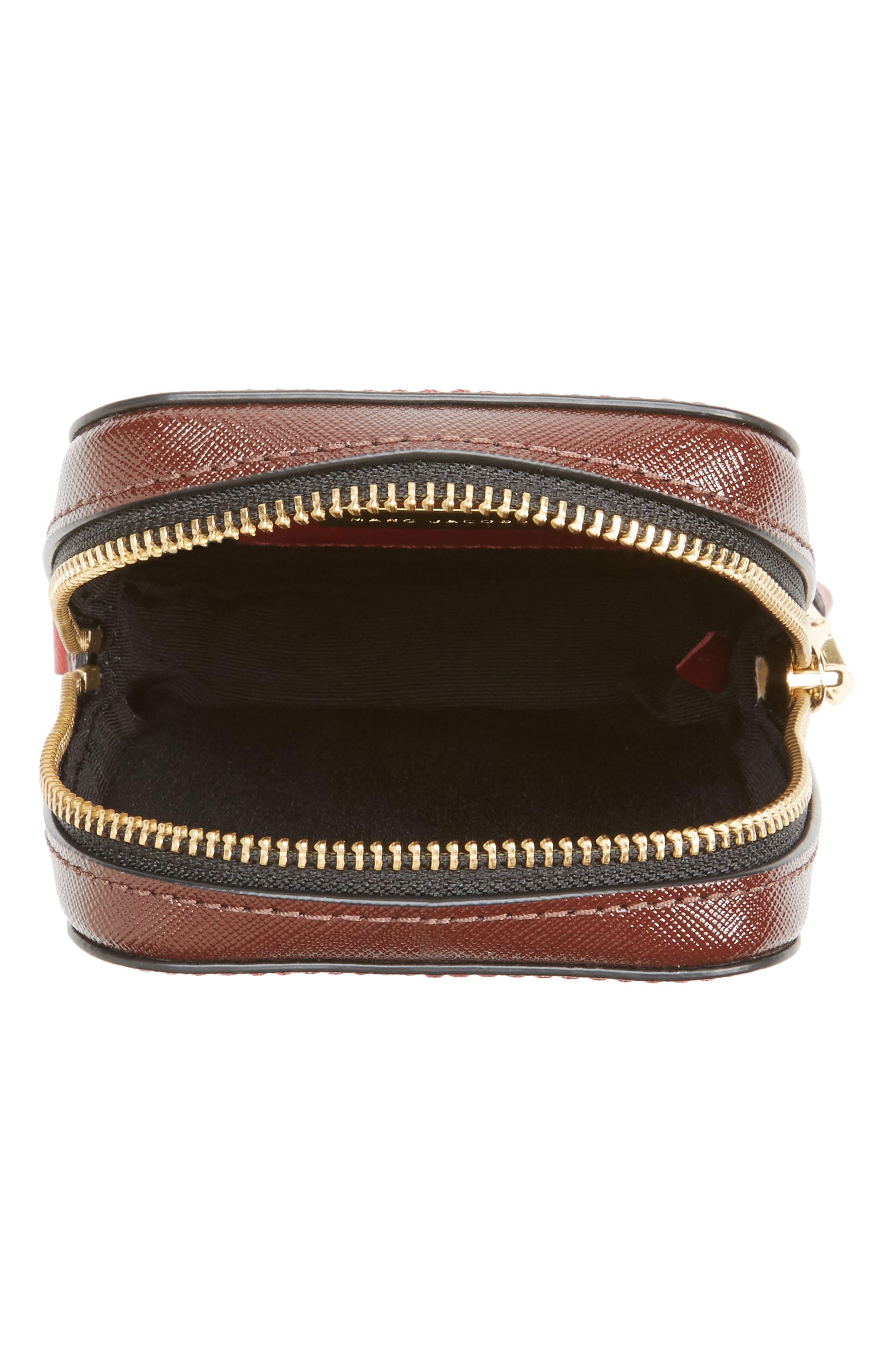 Hot Shot Saffiano Leather Shoulder Bag,                             Alternate thumbnail 16, color,