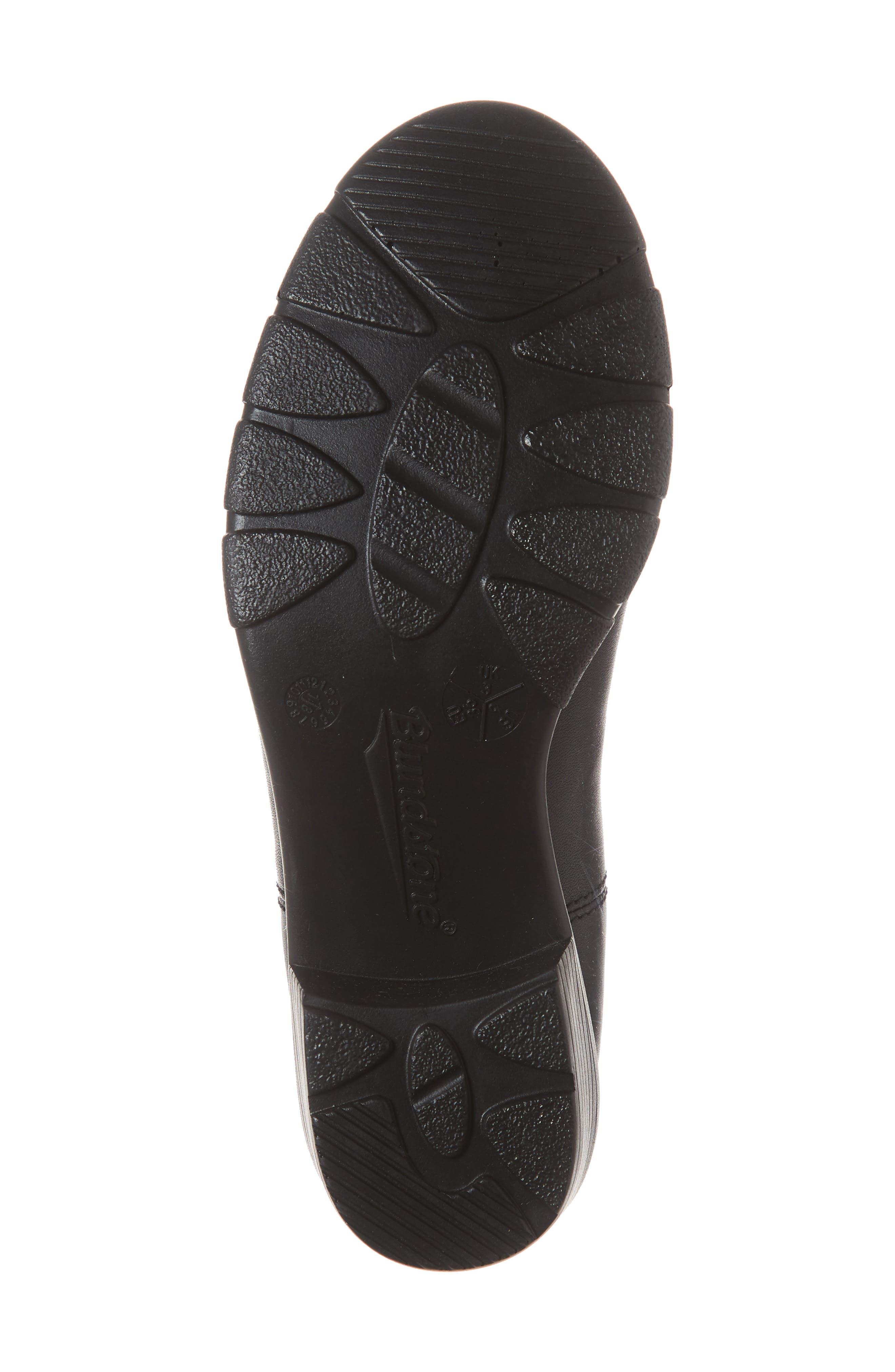 1671 Chelsea Boot,                             Alternate thumbnail 6, color,                             BLACK LEATHER