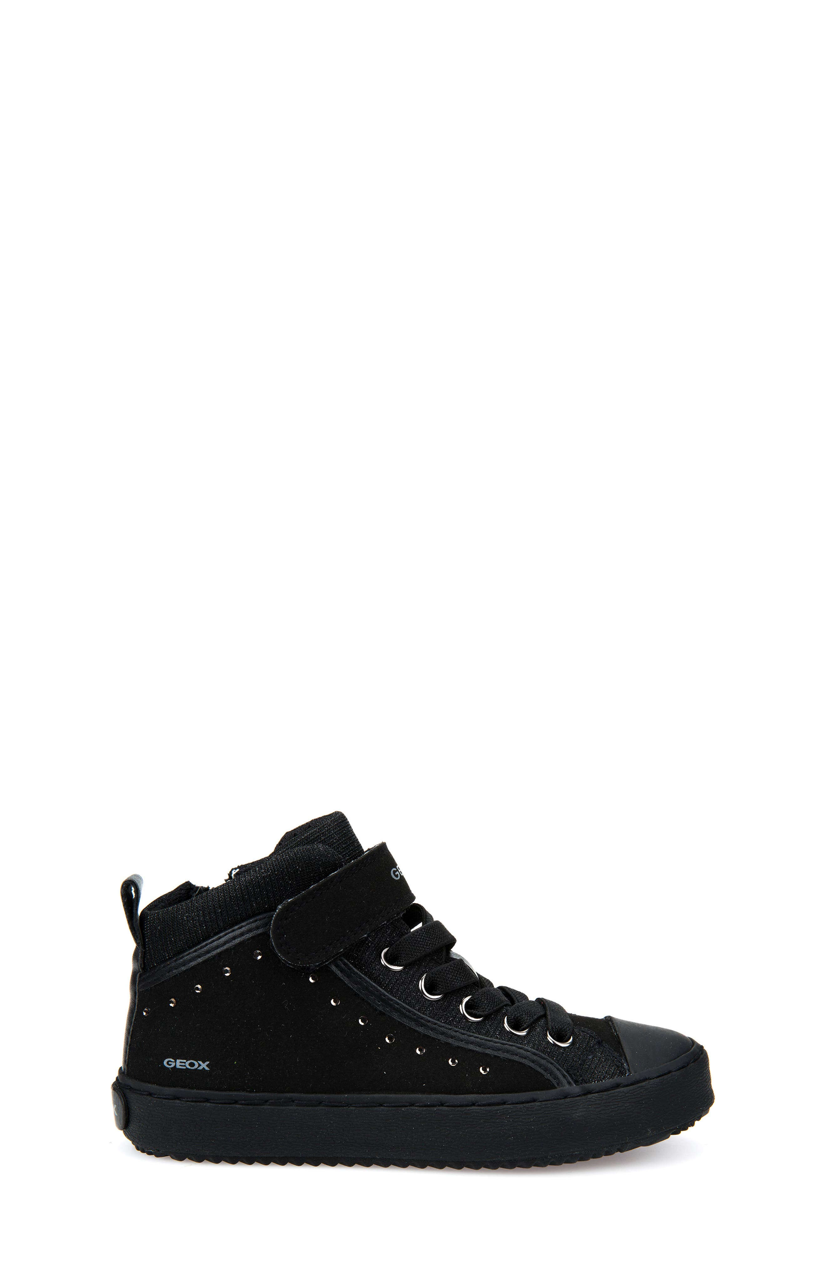 Kalispera High Top Sneaker,                             Alternate thumbnail 3, color,                             BLACK