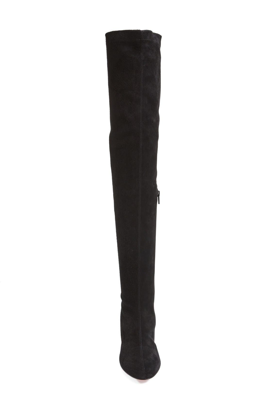 'Alta' Over the Knee Boot,                             Alternate thumbnail 3, color,                             001
