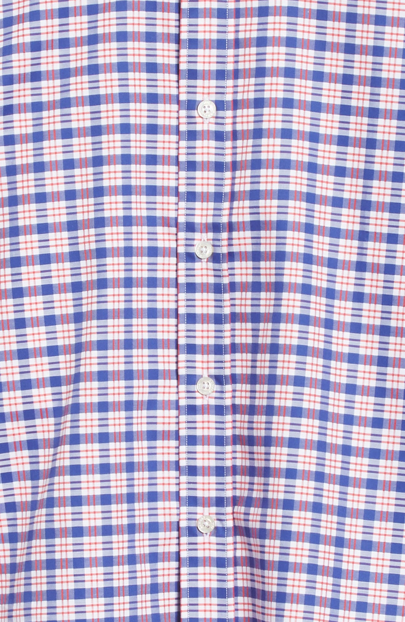 Regular Fit Plaid Sport Shirt,                             Alternate thumbnail 7, color,                             600