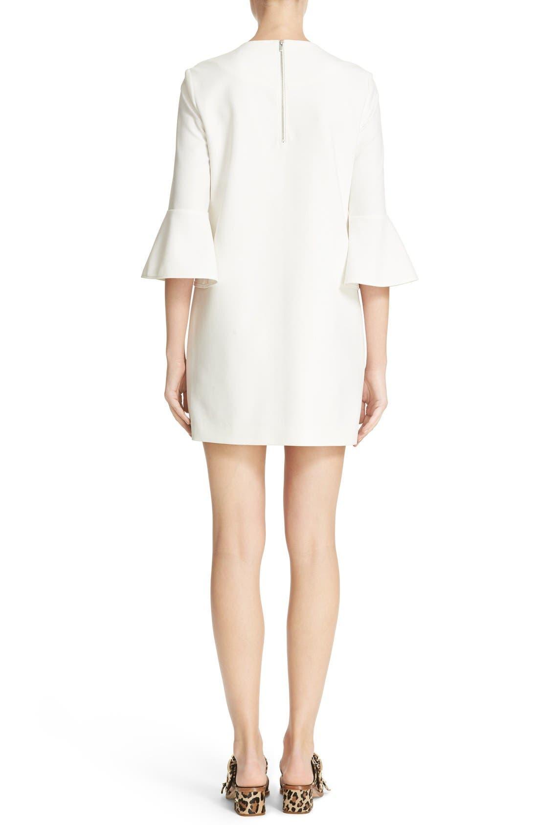 Bell Sleeve Dress,                             Alternate thumbnail 2, color,                             104