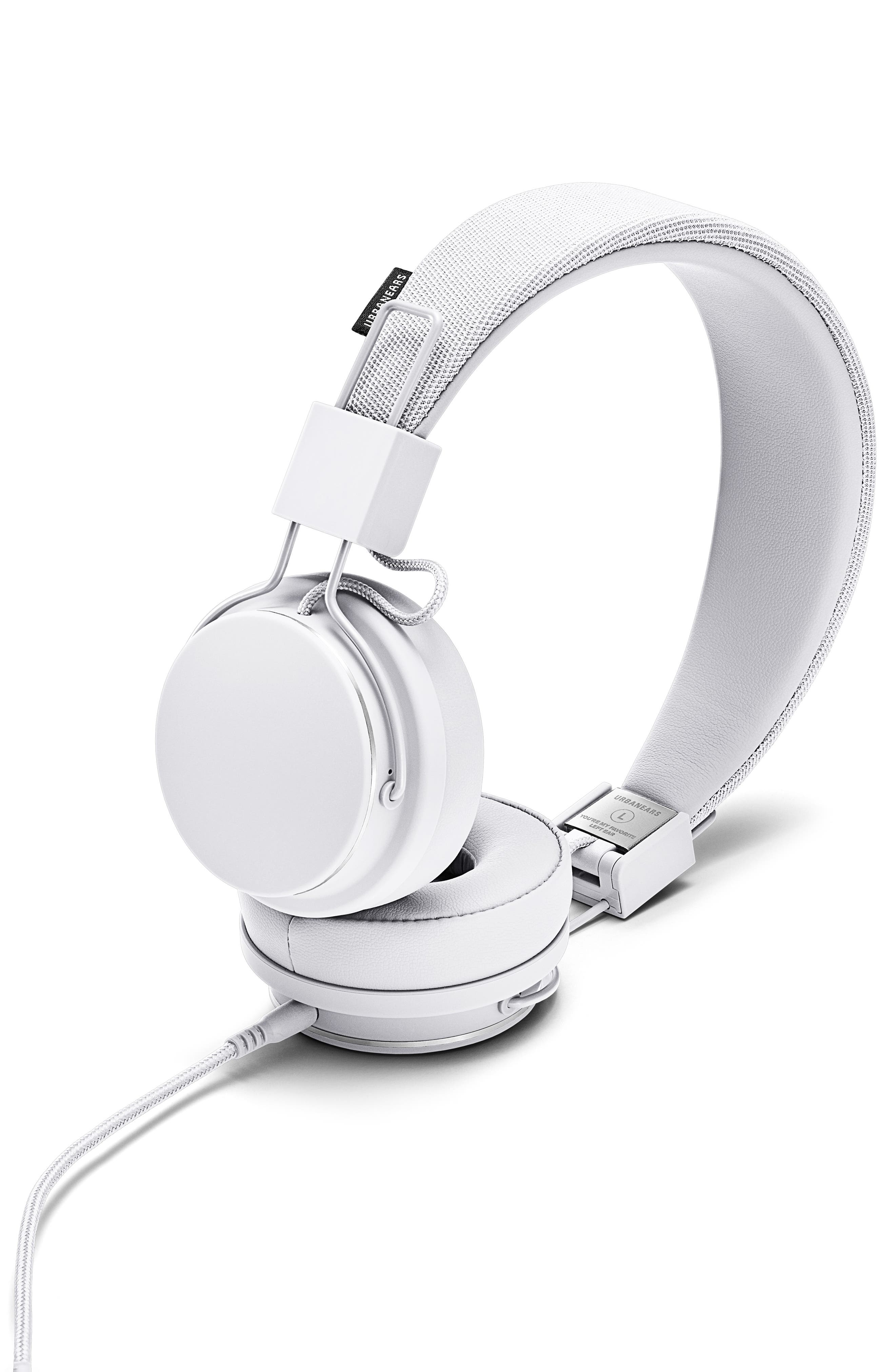 Plattan II On-Ear Headphones,                             Main thumbnail 1, color,                             TRUE WHITE