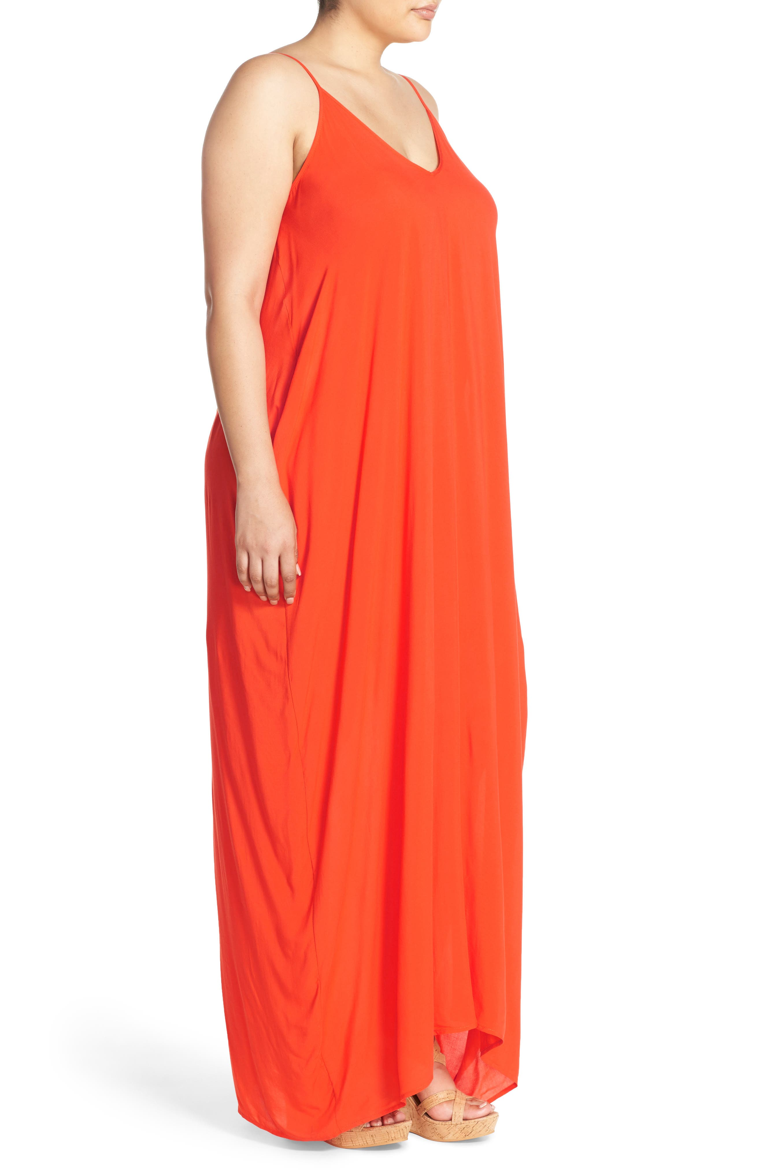Cover-Up Maxi Dress,                             Alternate thumbnail 26, color,