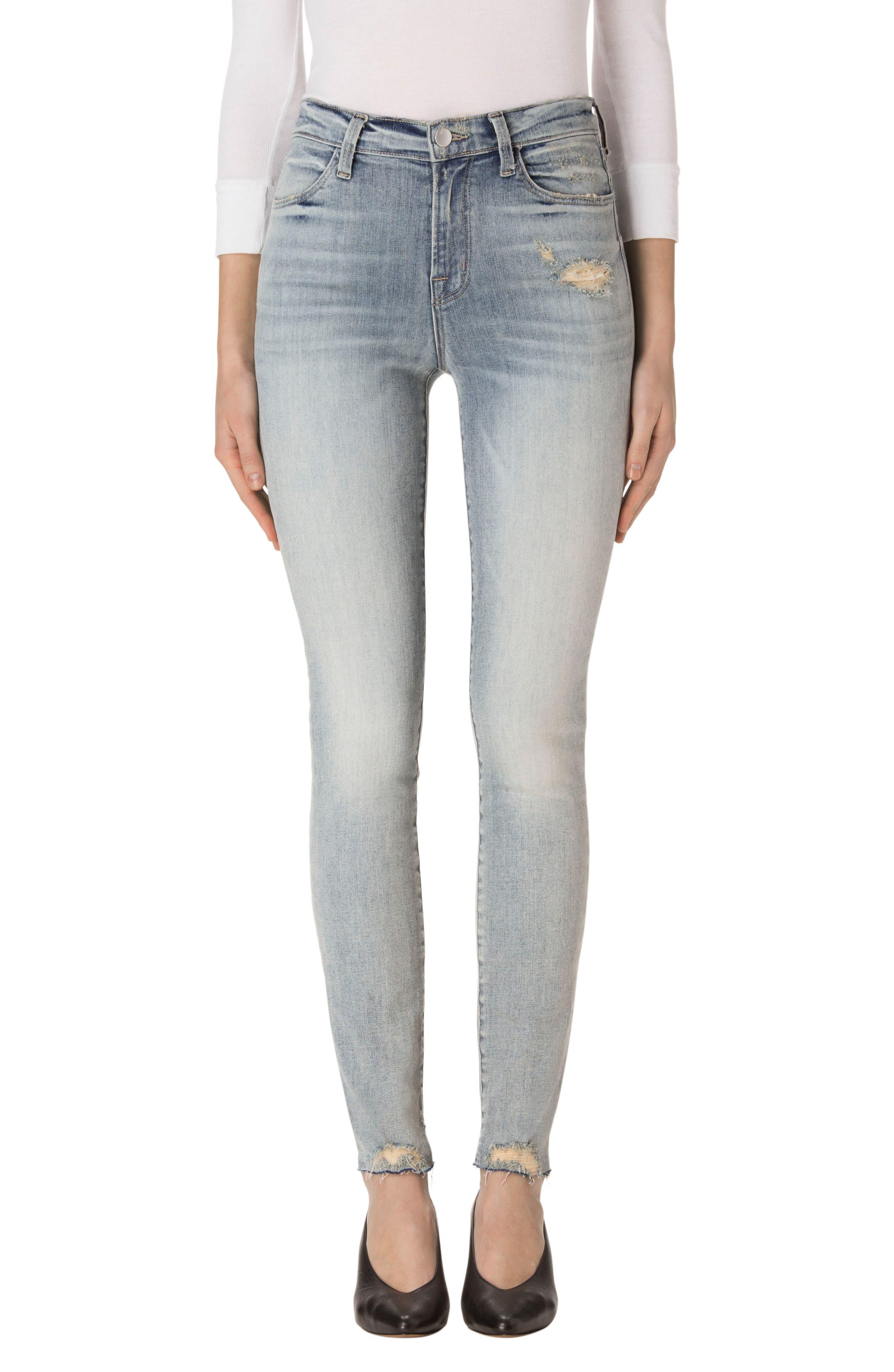 Maria High Waist Skinny Jeans,                             Main thumbnail 2, color,