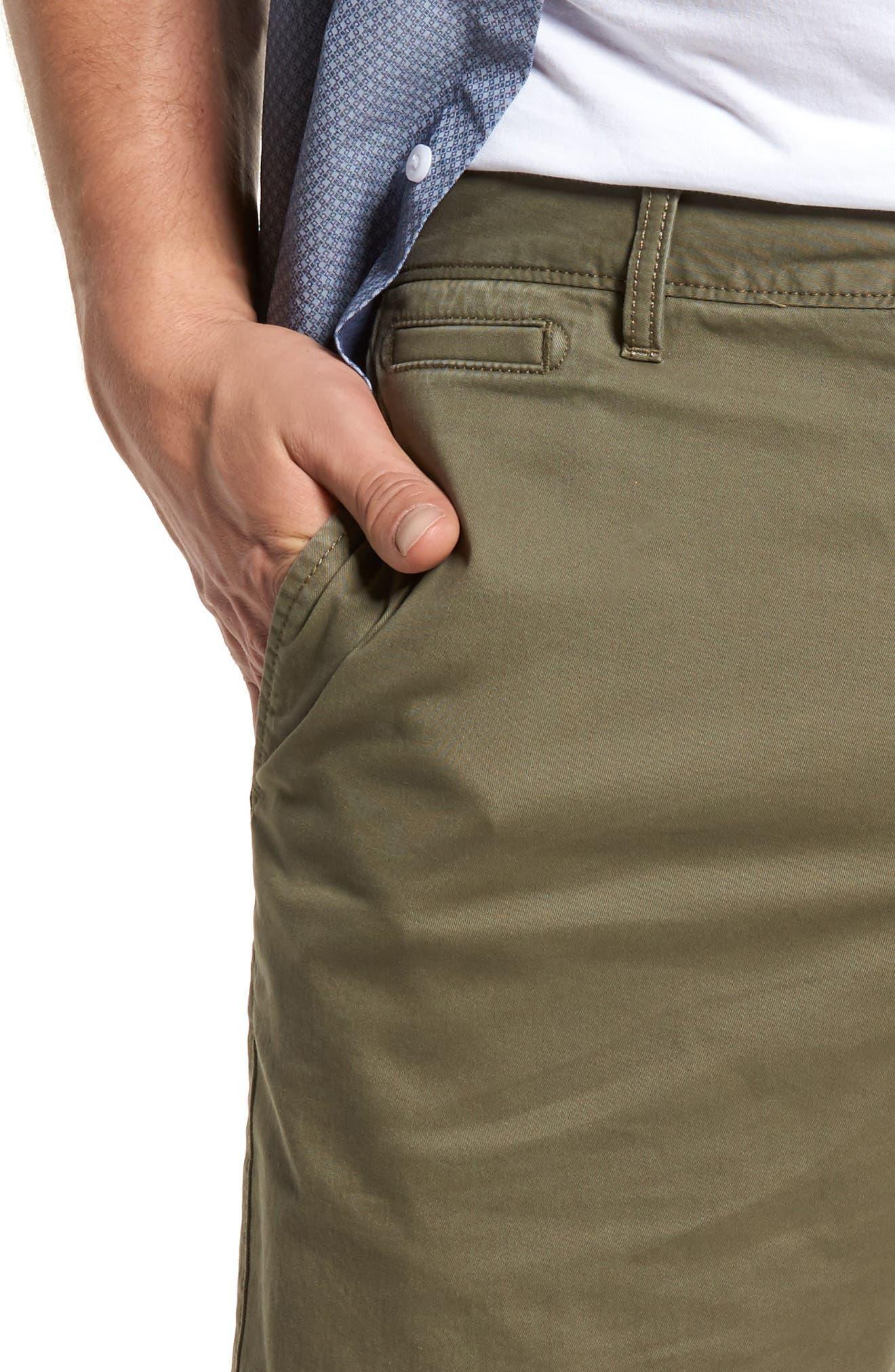 Ballard Slim Fit Stretch Chino 9-Inch Shorts,                             Alternate thumbnail 41, color,