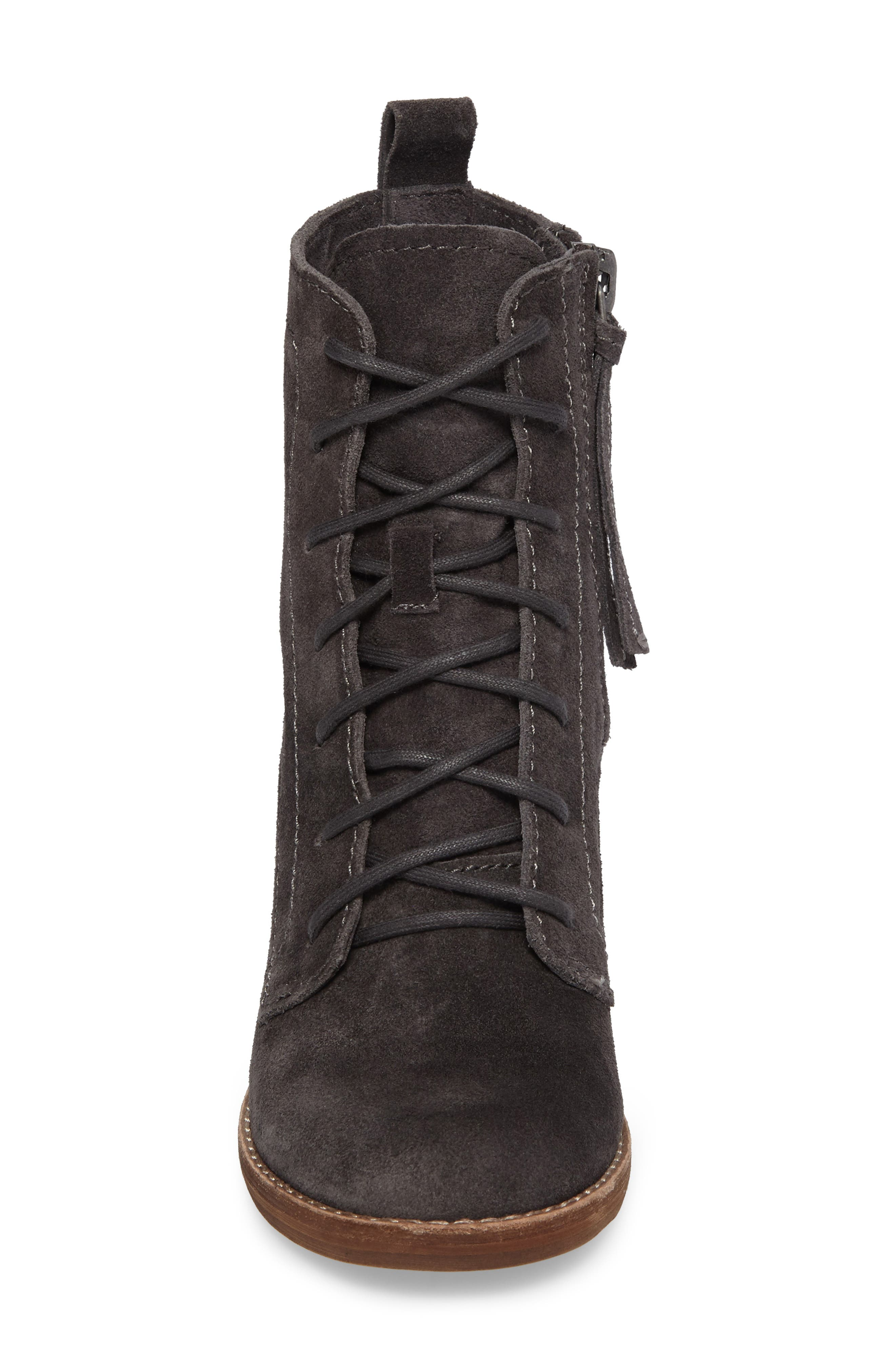 Rowly Lace-Up Bootie,                             Alternate thumbnail 7, color,