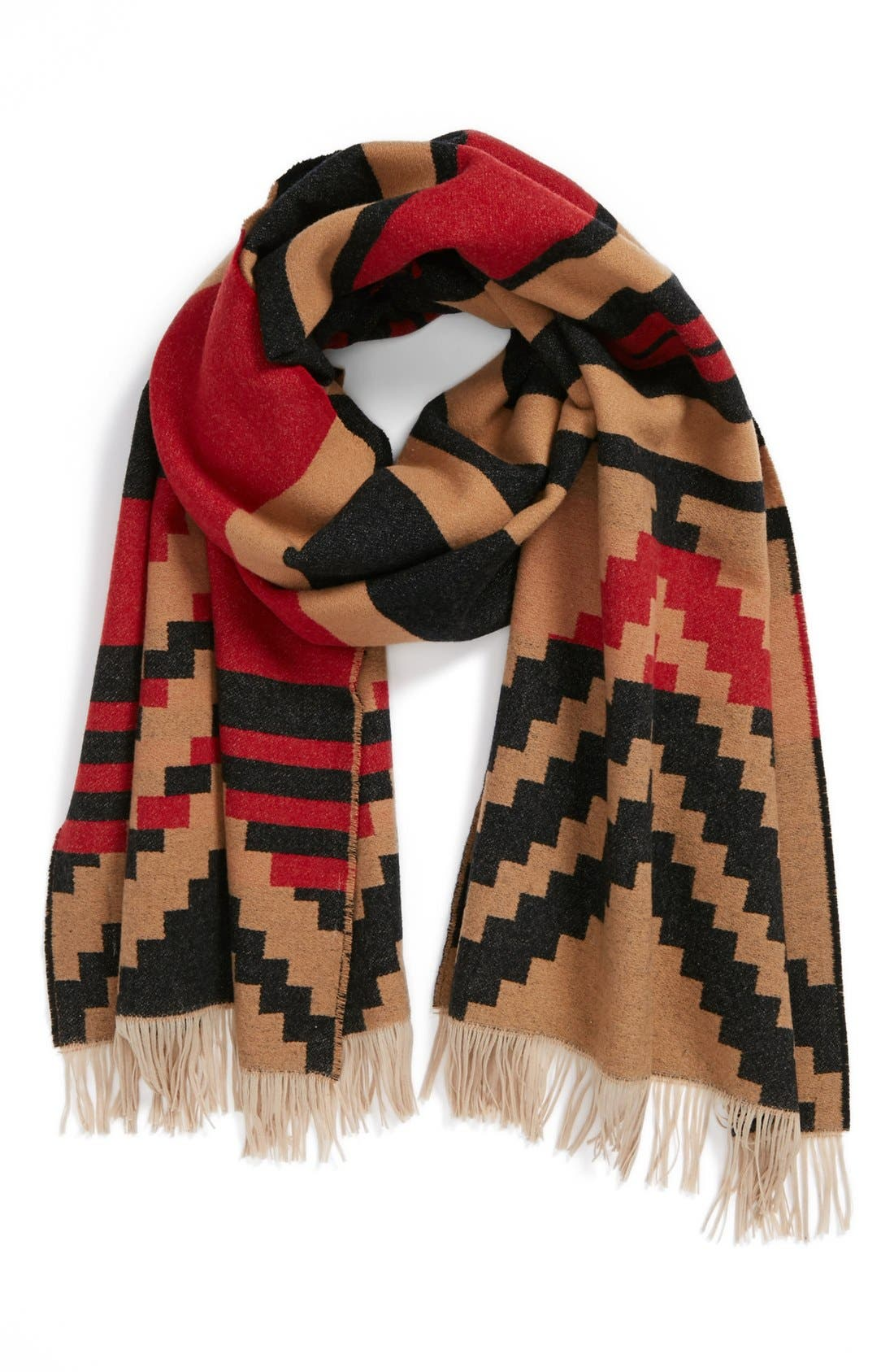 Wool Scarf, Main, color, 001