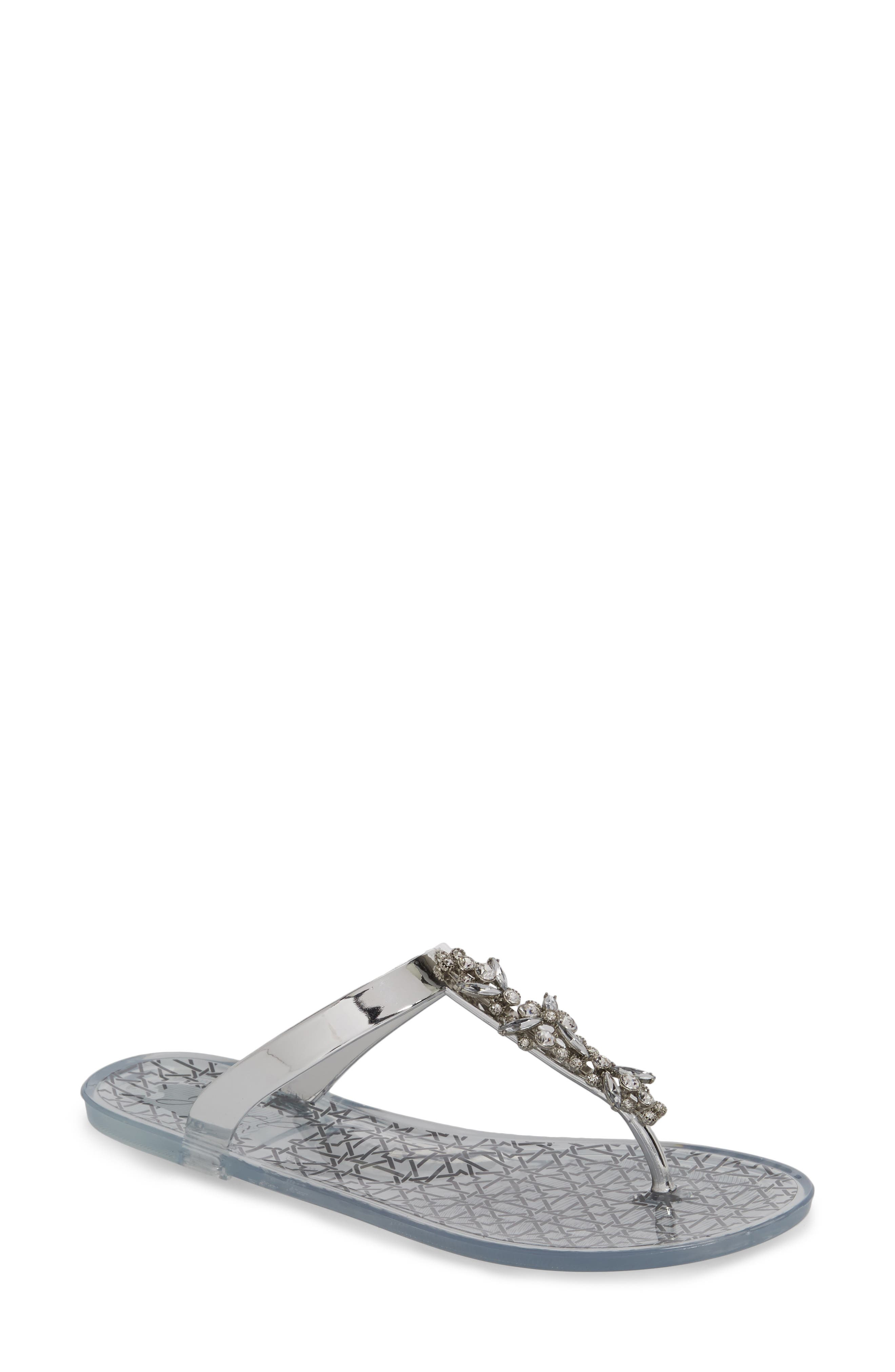 Gracia Embellished Sandal,                         Main,                         color, 040