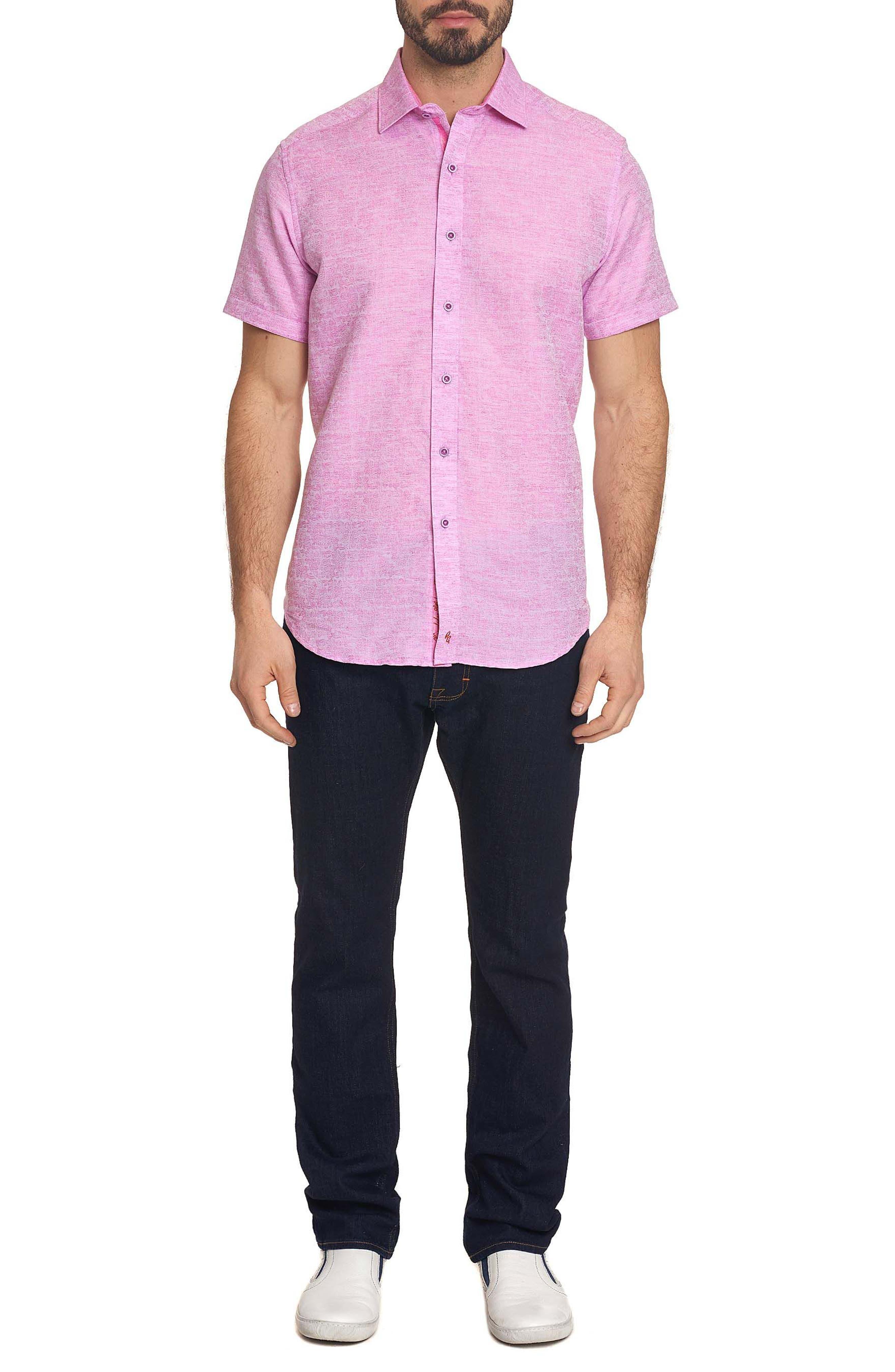 Cyprus Classic Fit Linen & Cotton Sport Shirt,                             Alternate thumbnail 17, color,