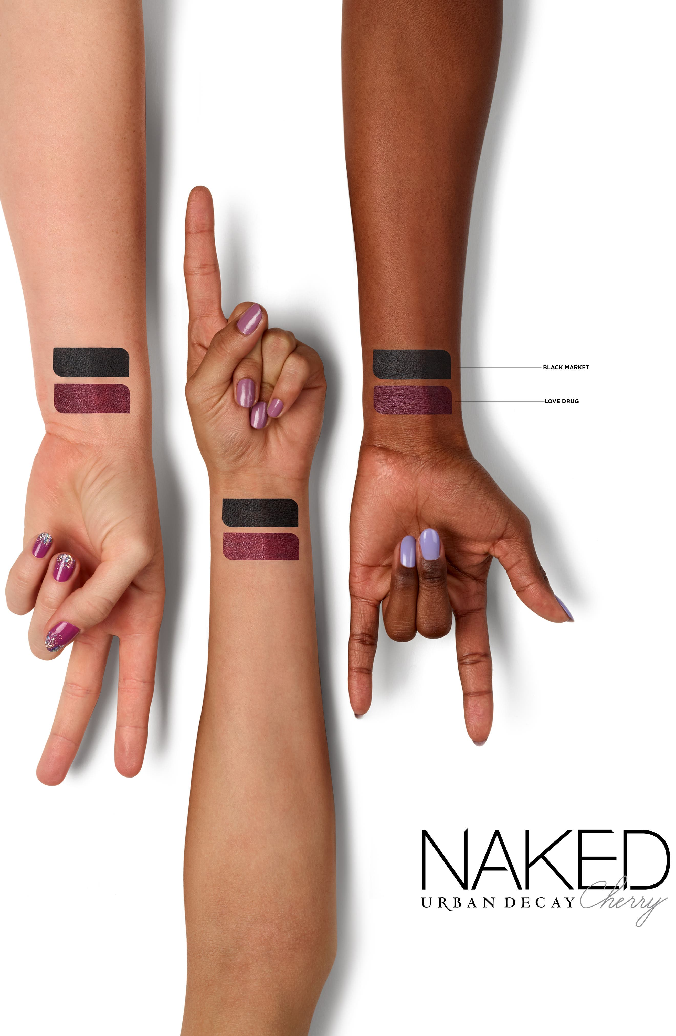 Naked Cherry 24/7 Glide-On Eye Pencil,                             Alternate thumbnail 2, color,                             NIGHT MARKET