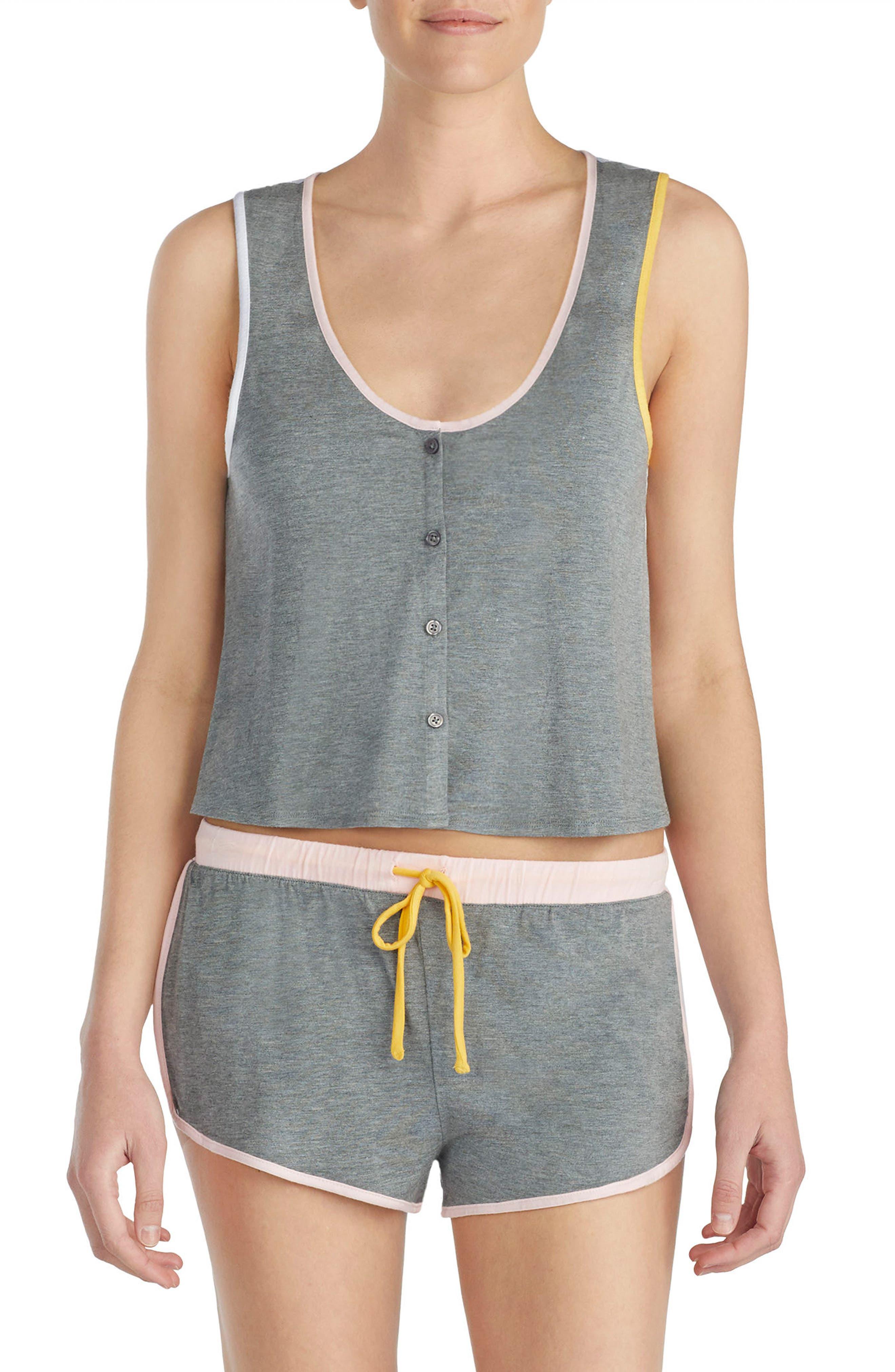 Stretch Modal Short Pajamas,                             Main thumbnail 1, color,                             024