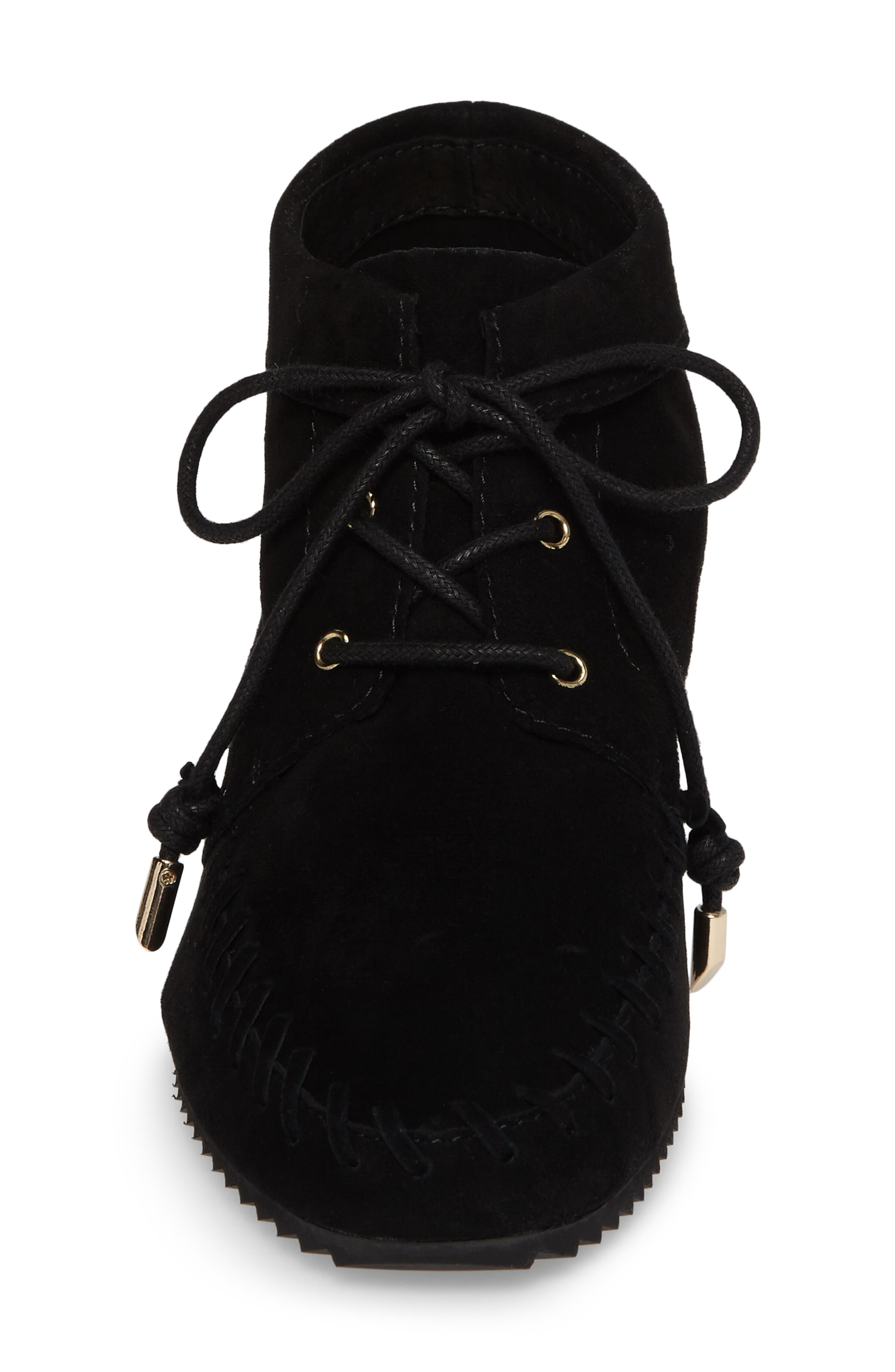 Jenna Wedge Bootie,                             Alternate thumbnail 4, color,                             001