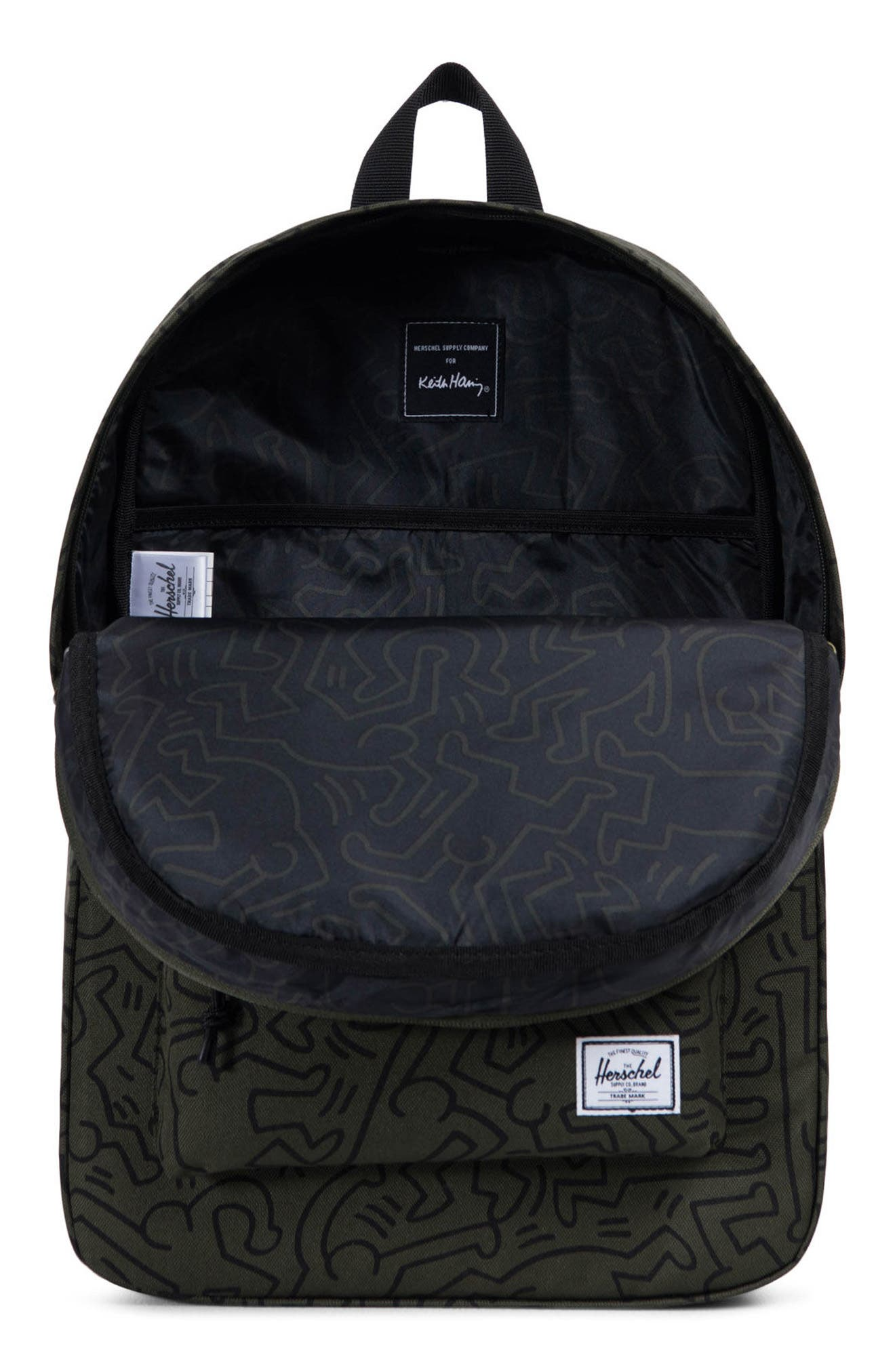 Winlaw x Keith Haring Backpack,                             Alternate thumbnail 3, color,