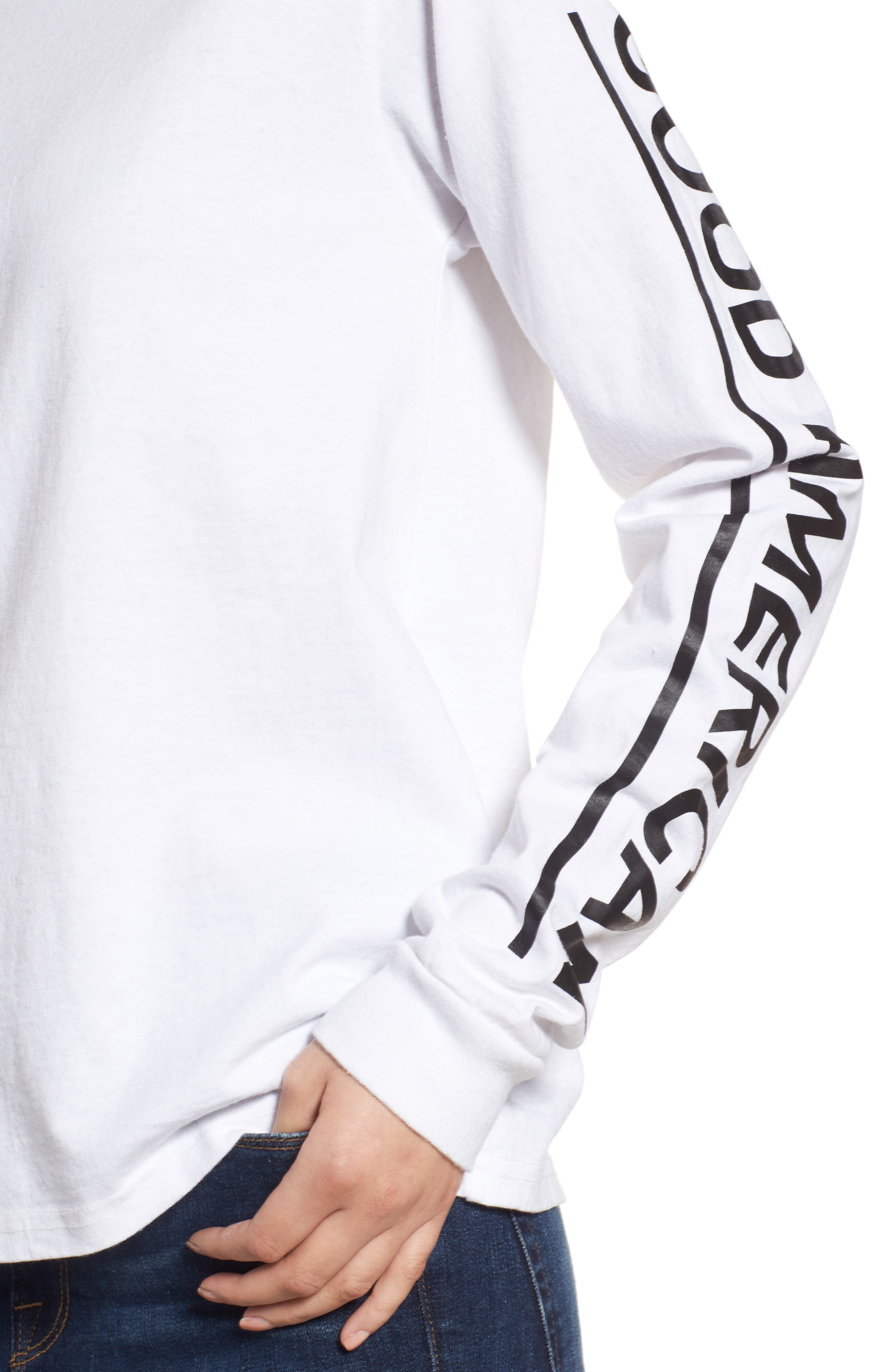 Goodies Long Sleeve Graphic Tee,                             Alternate thumbnail 4, color,