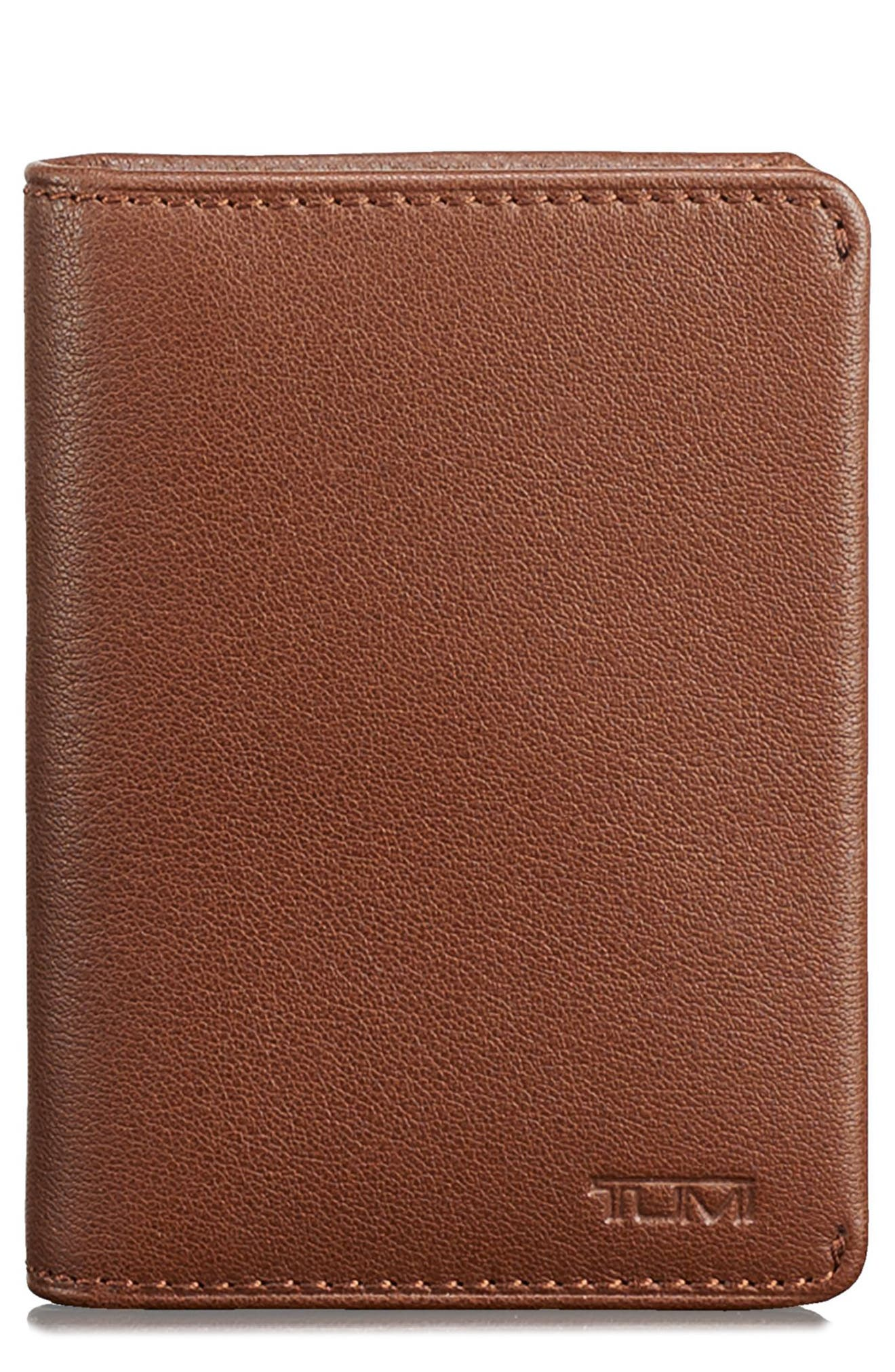 Leather RFID Card Case,                             Main thumbnail 2, color,