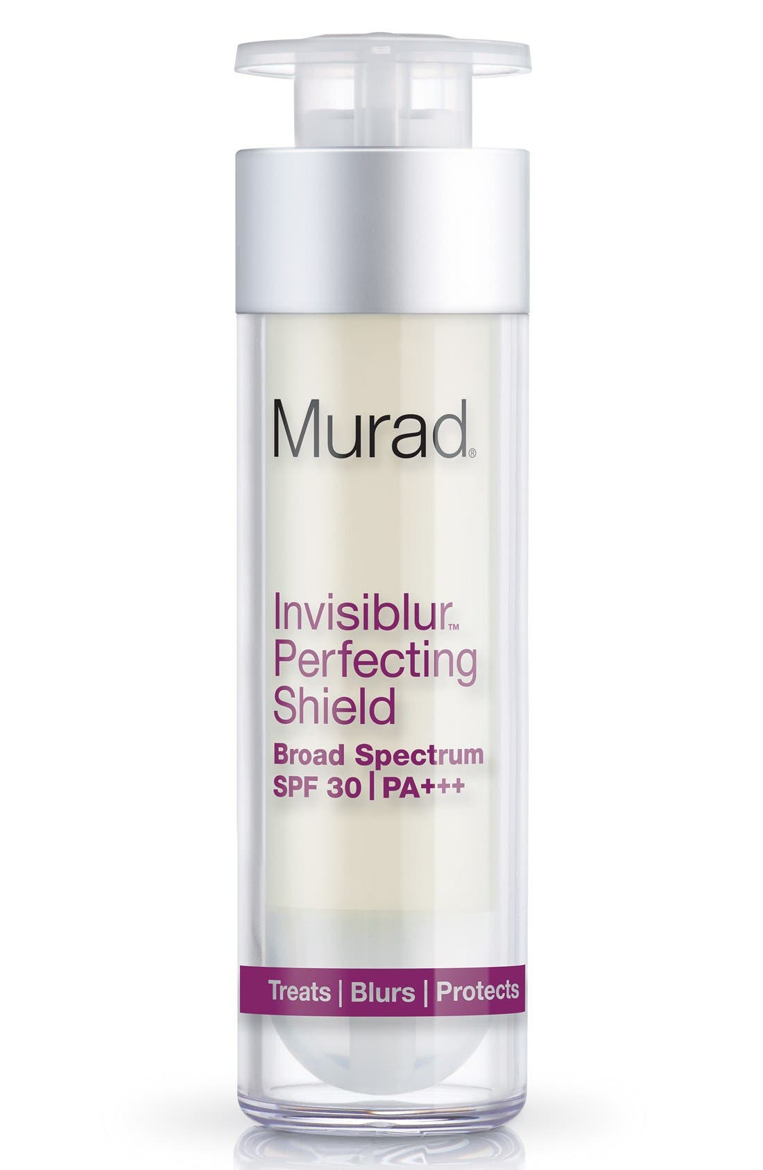 'Invisiblur<sup>™</sup>' Perfecting Shield Broad Spectrum SPF 30 PA+++,                             Alternate thumbnail 4, color,                             NO COLOR