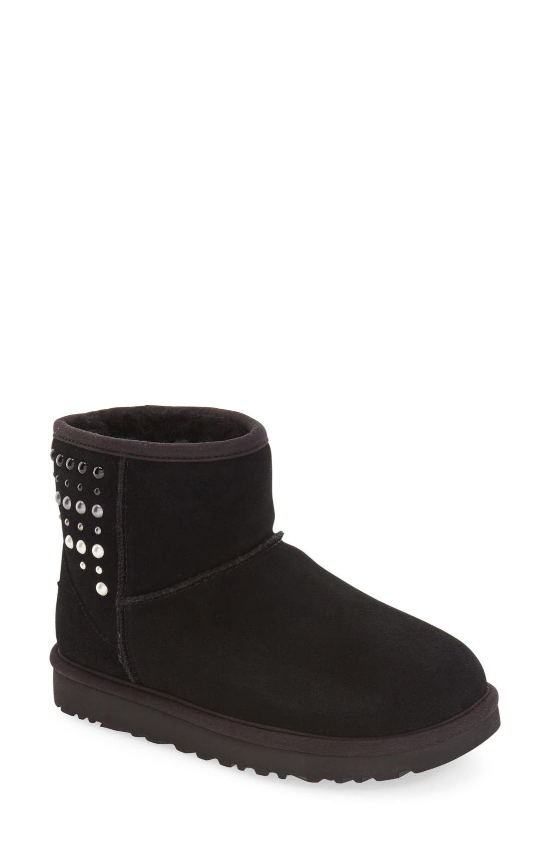 'Mini Classic - Pearls' Boot, Main, color, 001