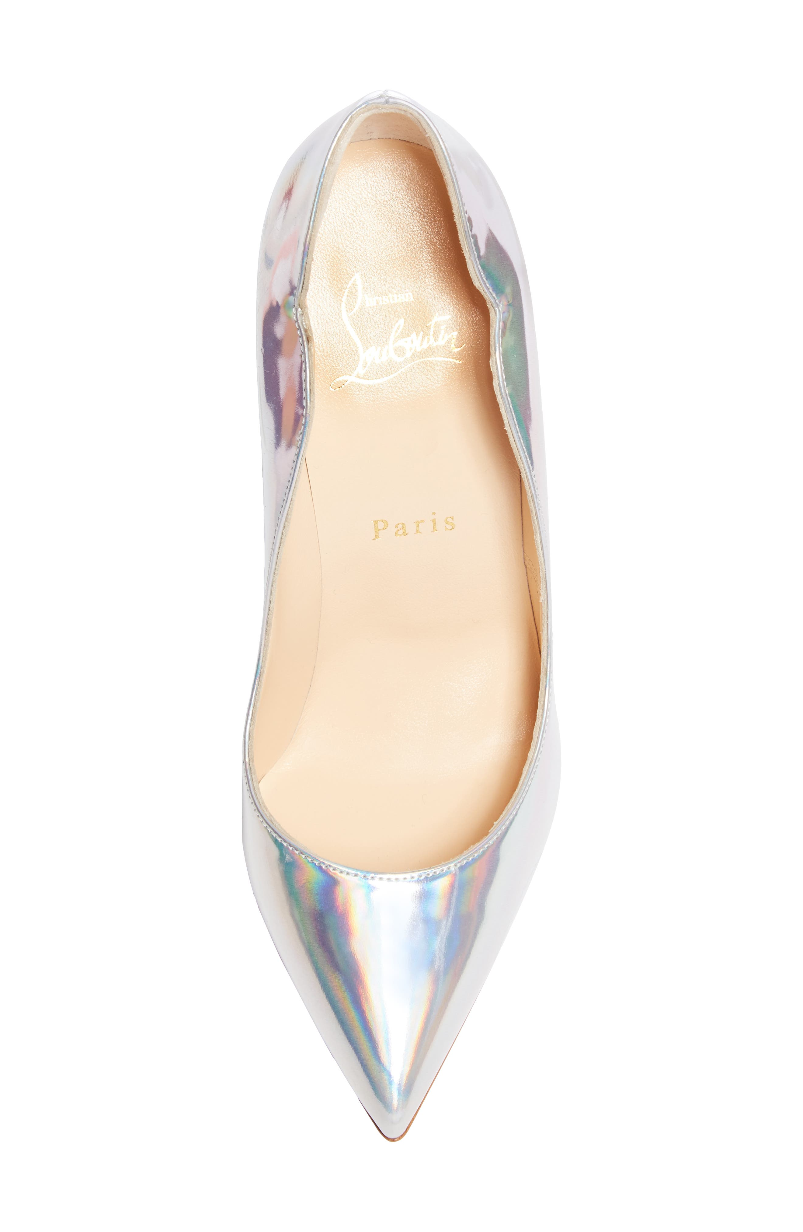Hot Chick Scallop Pump,                             Alternate thumbnail 5, color,                             SILVER