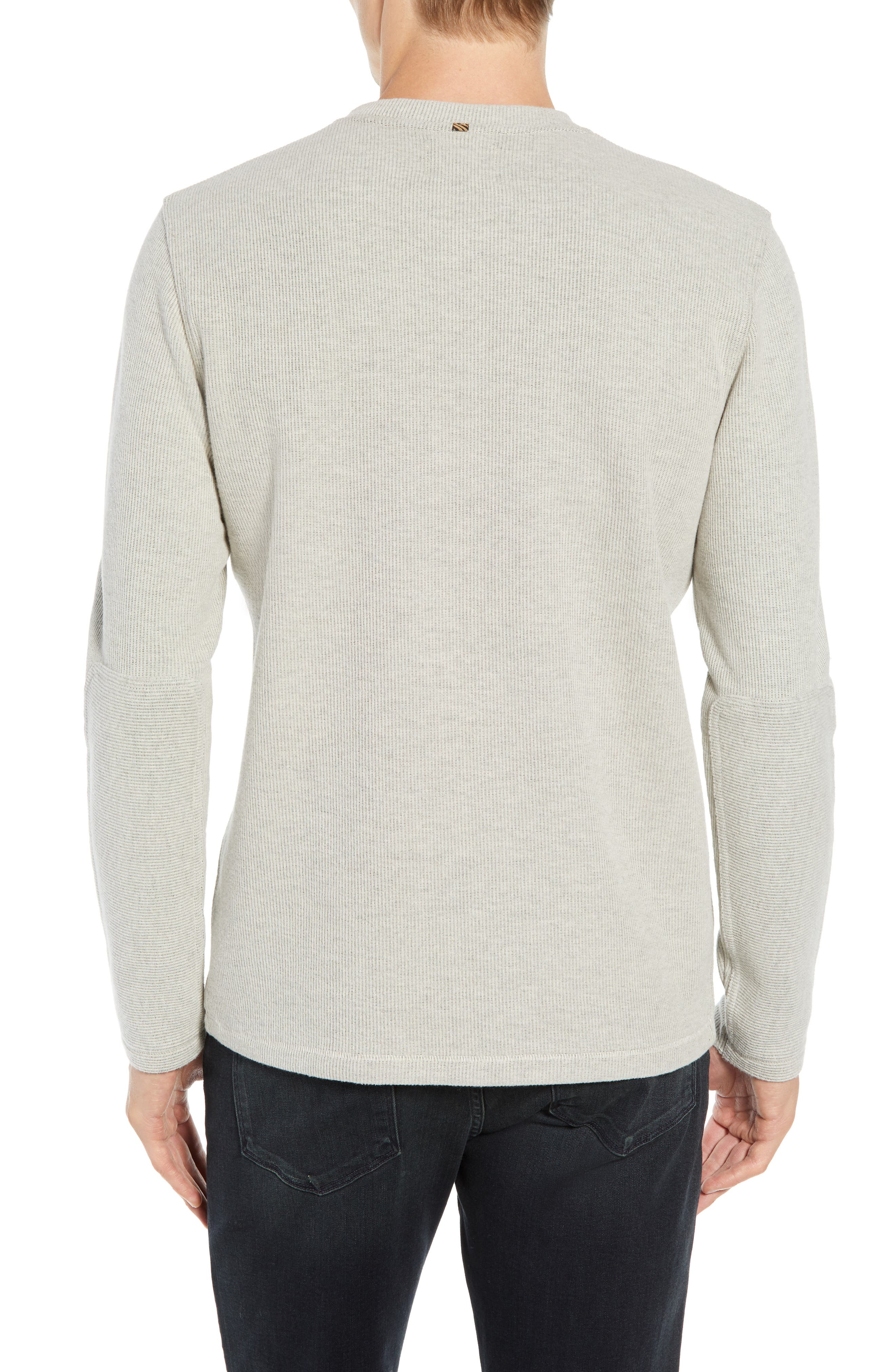 BILLY REID,                             Ribbed Long Sleeve Henley,                             Alternate thumbnail 2, color,                             NATURAL