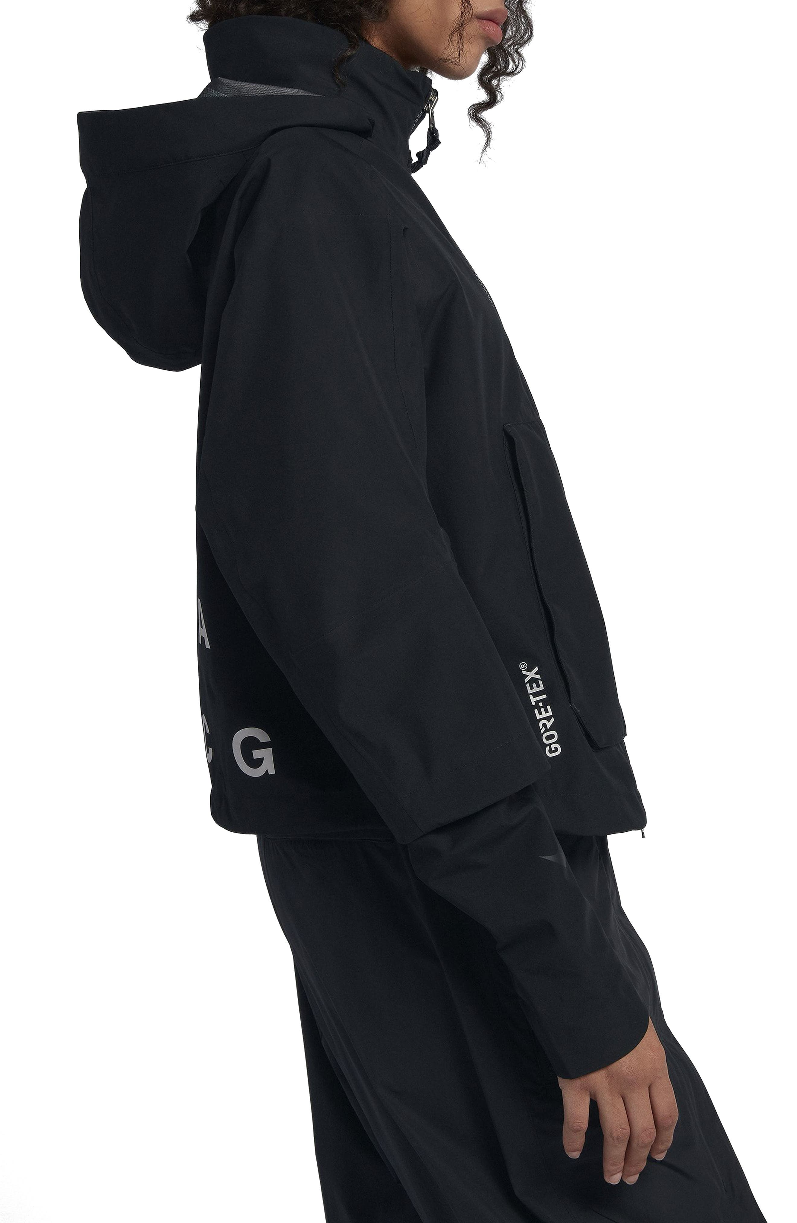 NikeLab ACG Gore-Tex<sup>®</sup> Women's Jacket,                             Alternate thumbnail 4, color,                             010