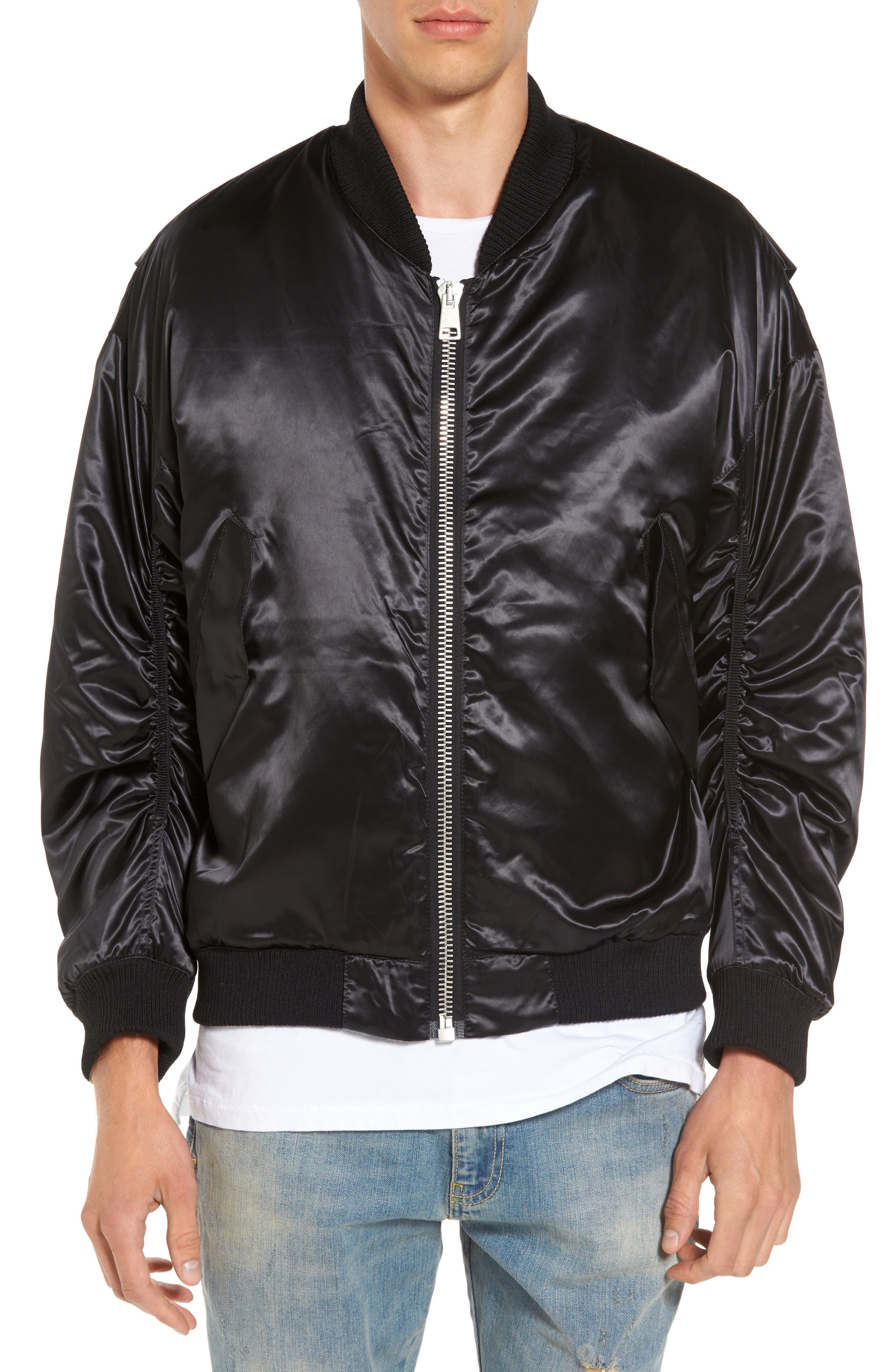 Classic Bomber Jacket,                         Main,                         color, 001