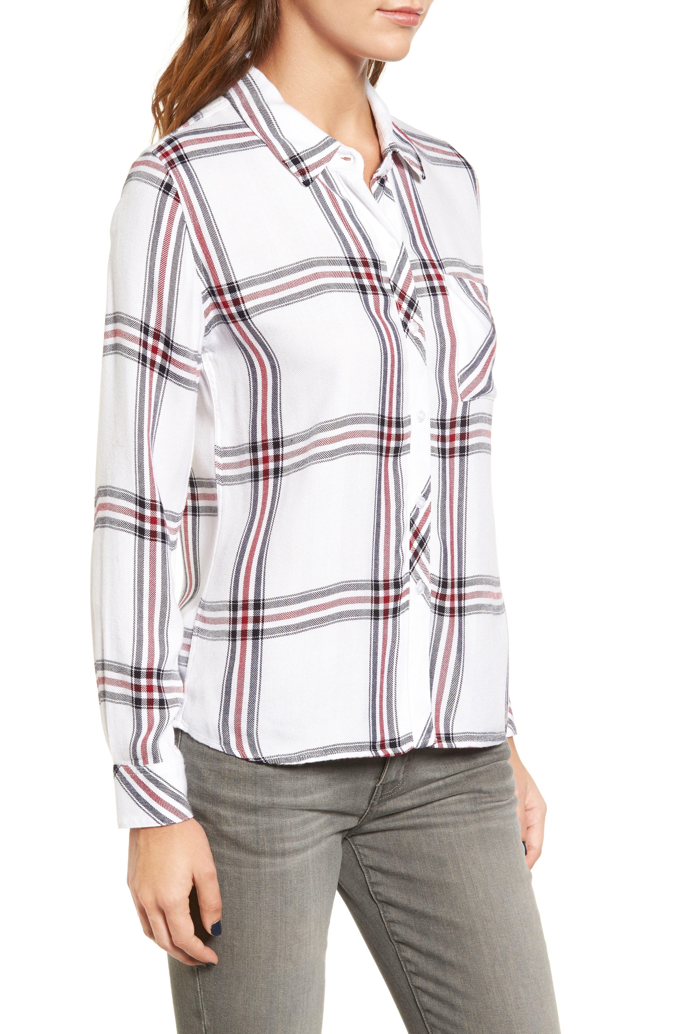 Hunter Plaid Shirt,                             Alternate thumbnail 375, color,