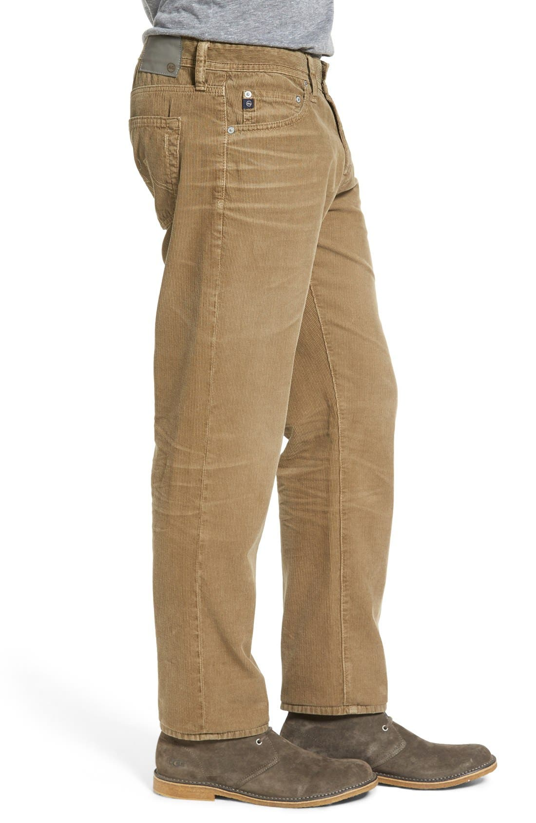 'Graduate' Tailored Straight Leg Corduroy Pants,                             Alternate thumbnail 40, color,